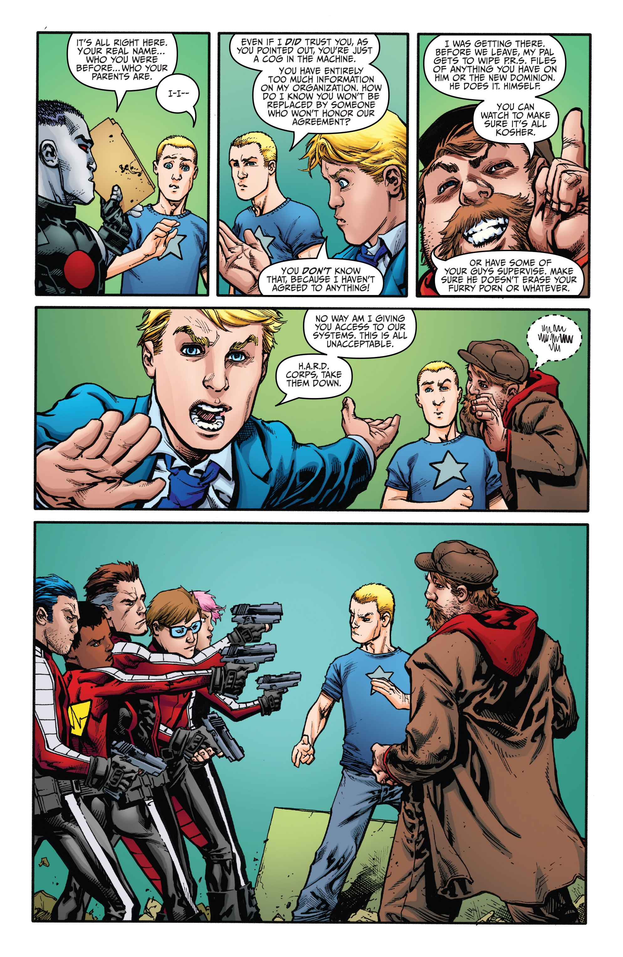 Read online Archer and Armstrong comic -  Issue #Archer and Armstrong _TPB 5 - 114
