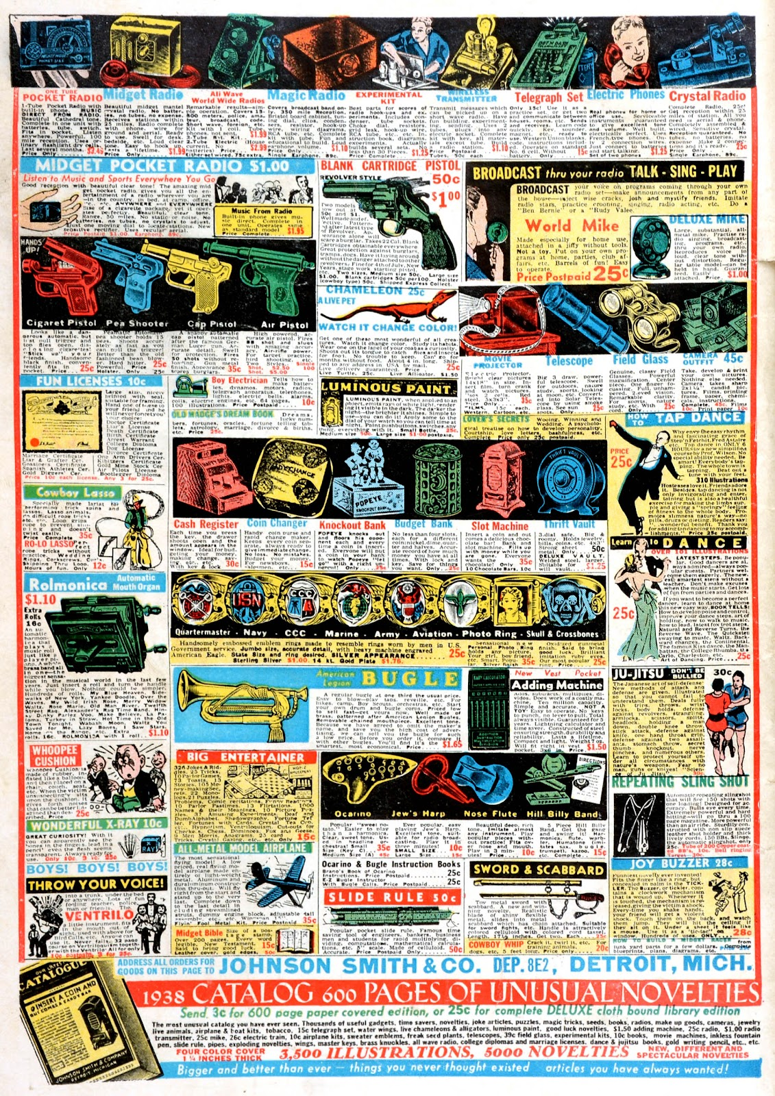 Read online Famous Funnies comic -  Issue #43 - 67