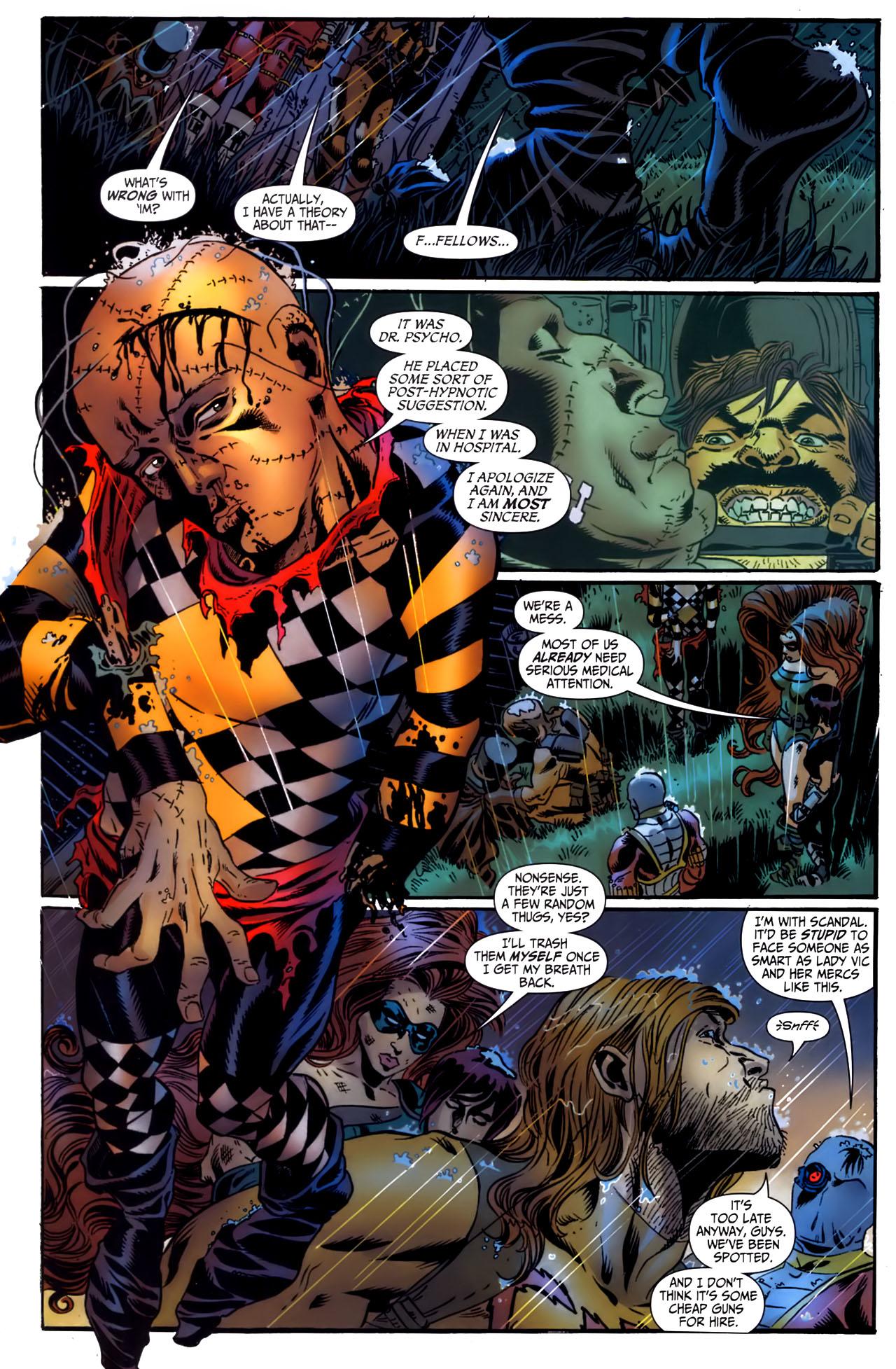Read online Secret Six (2006) comic -  Issue #3 - 22