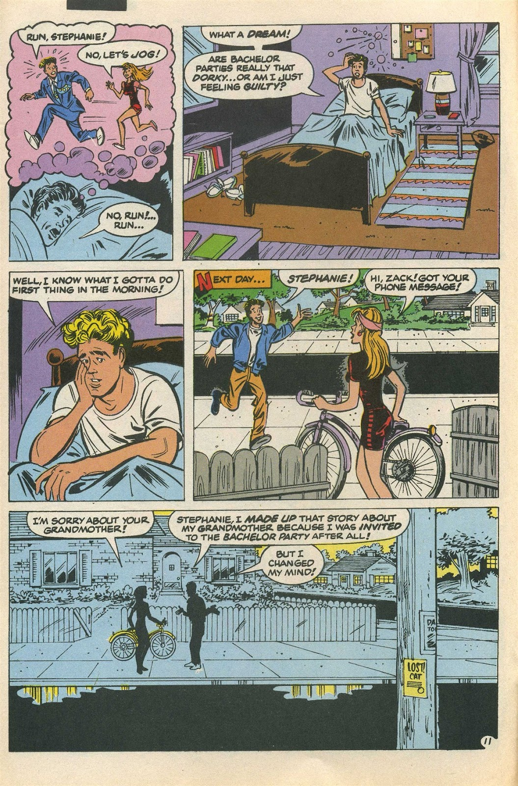 Read online Saved By The Bell comic -  Issue #3 - 16