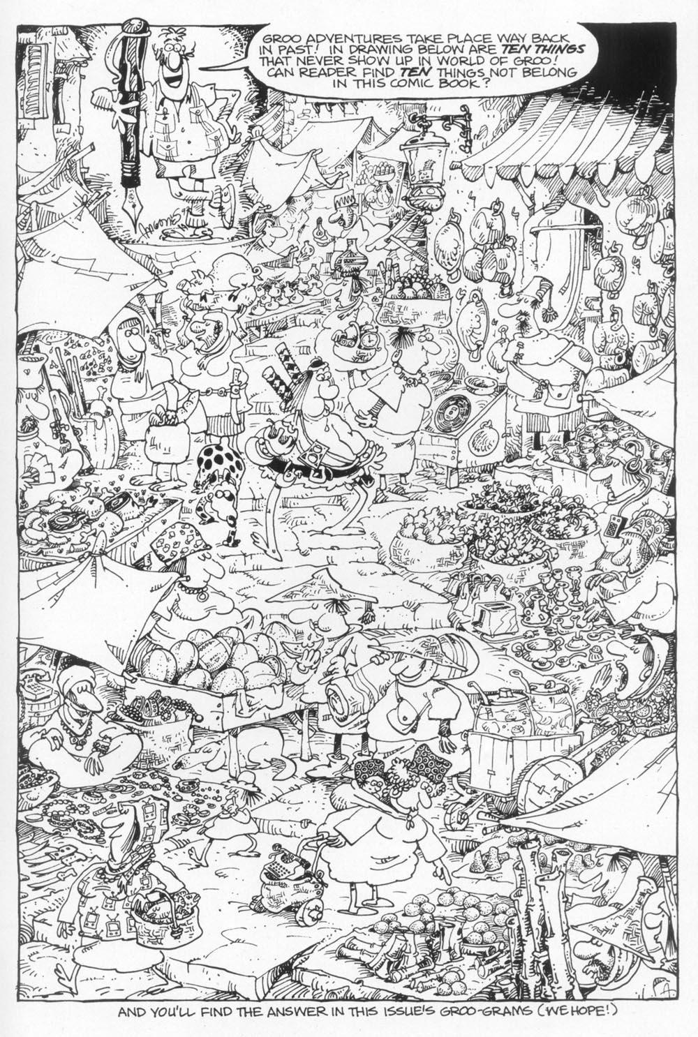 Read online Sergio Aragonés Groo the Wanderer comic -  Issue #94 - 32