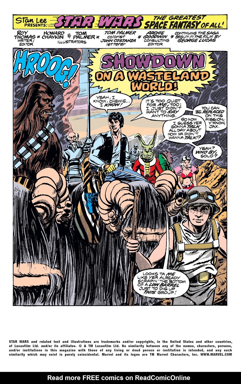 Read online Star Wars Legends: The Original Marvel Years - Epic Collection comic -  Issue # TPB 1 (Part 2) - 54