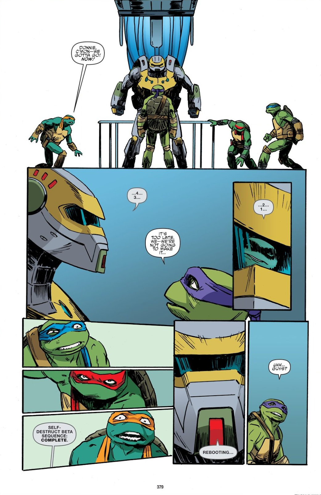 Read online Teenage Mutant Ninja Turtles: The IDW Collection comic -  Issue # TPB 8 (Part 4) - 76
