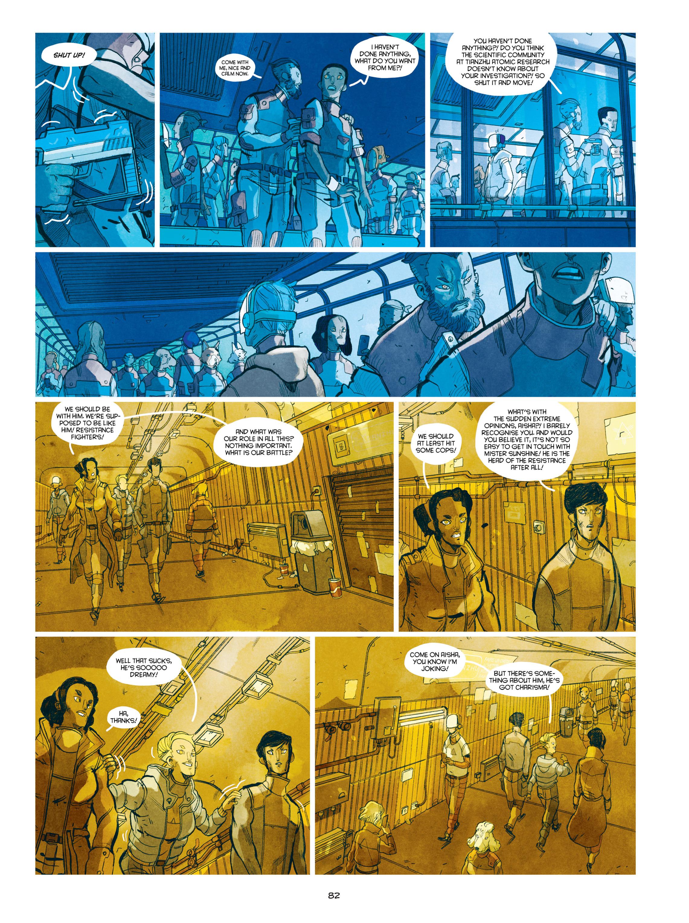 Read online Shangri-La comic -  Issue # Full - 83
