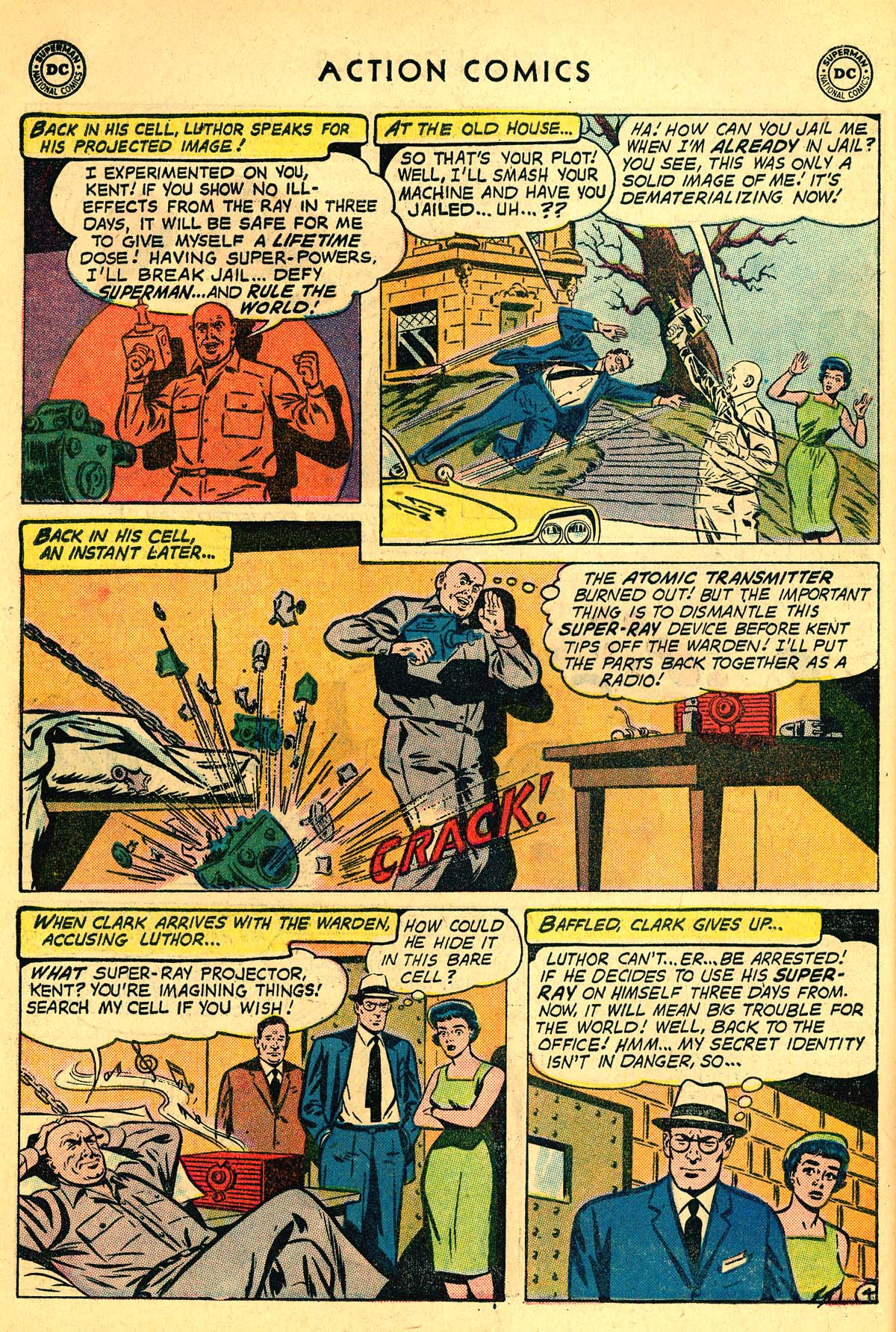 Read online Action Comics (1938) comic -  Issue #257 - 6