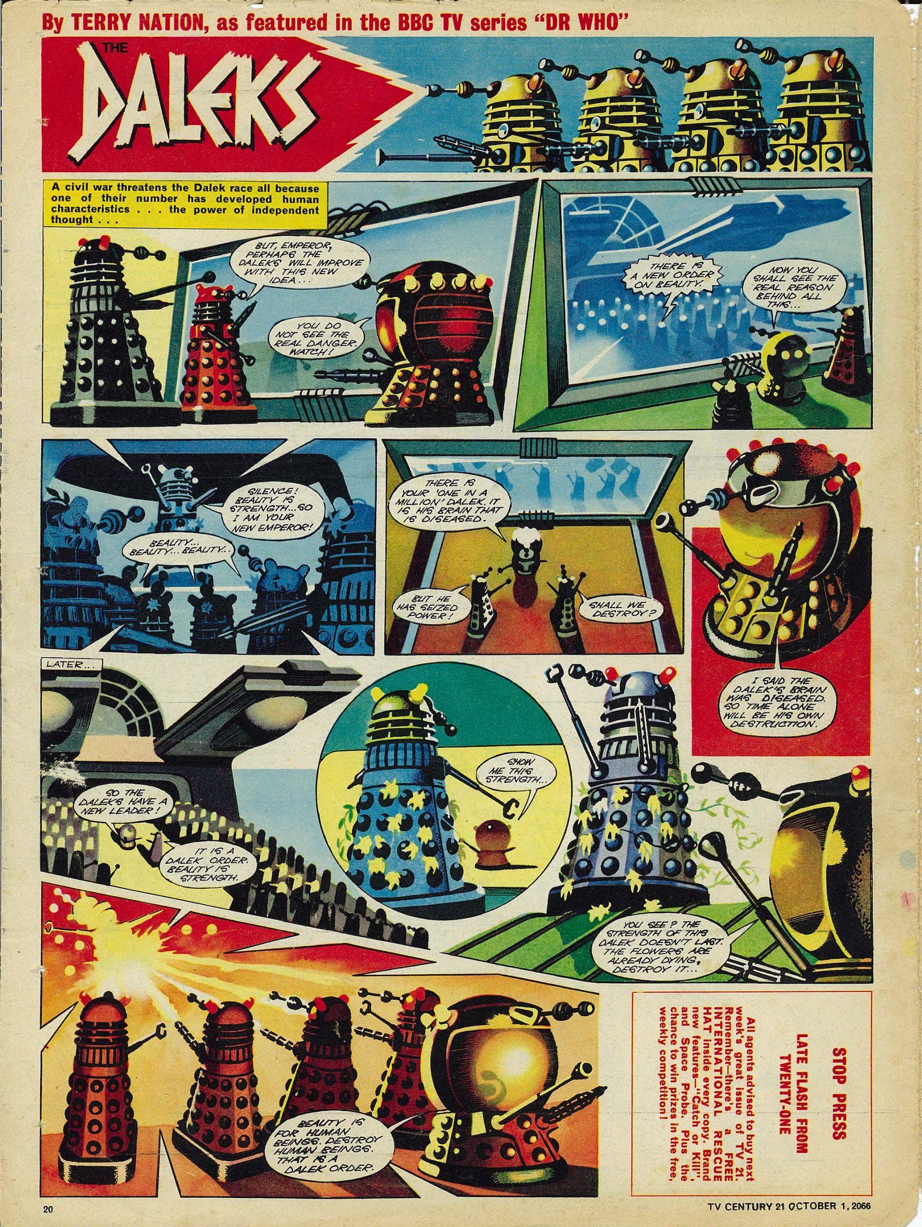 Read online TV Century 21 (TV 21) comic -  Issue #89 - 19