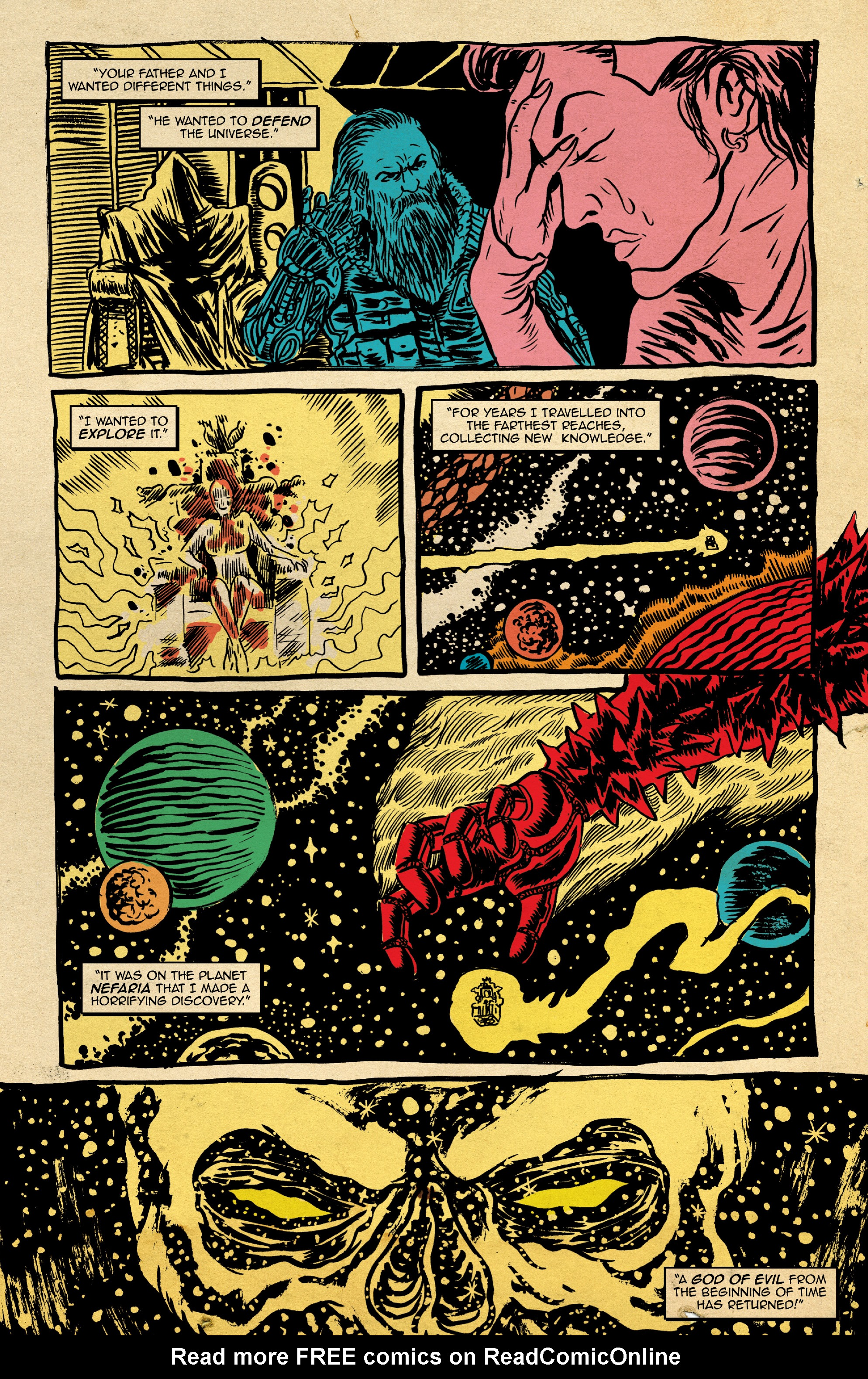 Read online Space Riders: Galaxy of Brutality comic -  Issue #2 - 13