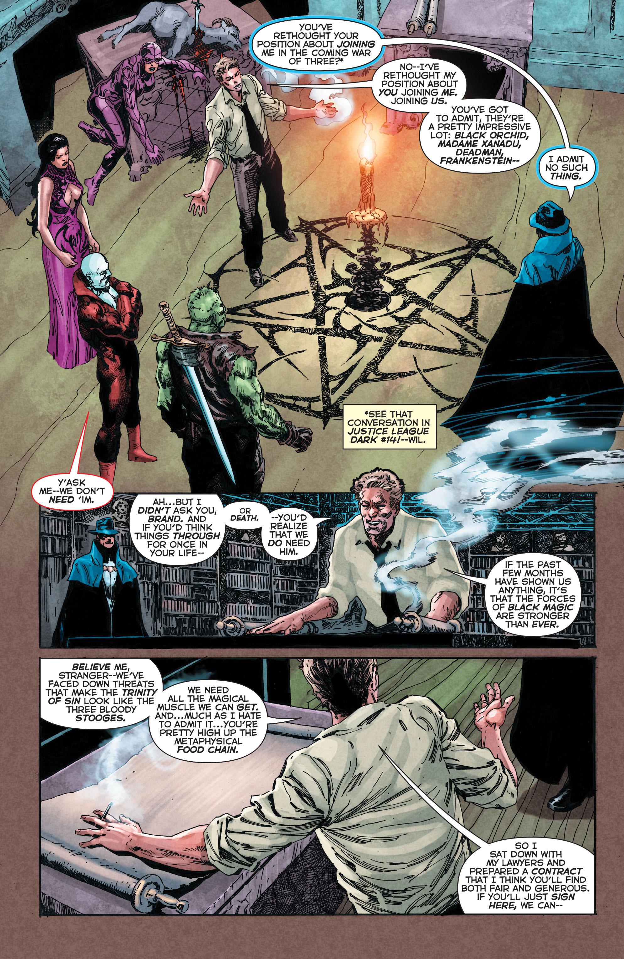 Read online Trinity of Sin: The Phantom Stranger comic -  Issue #4 - 10