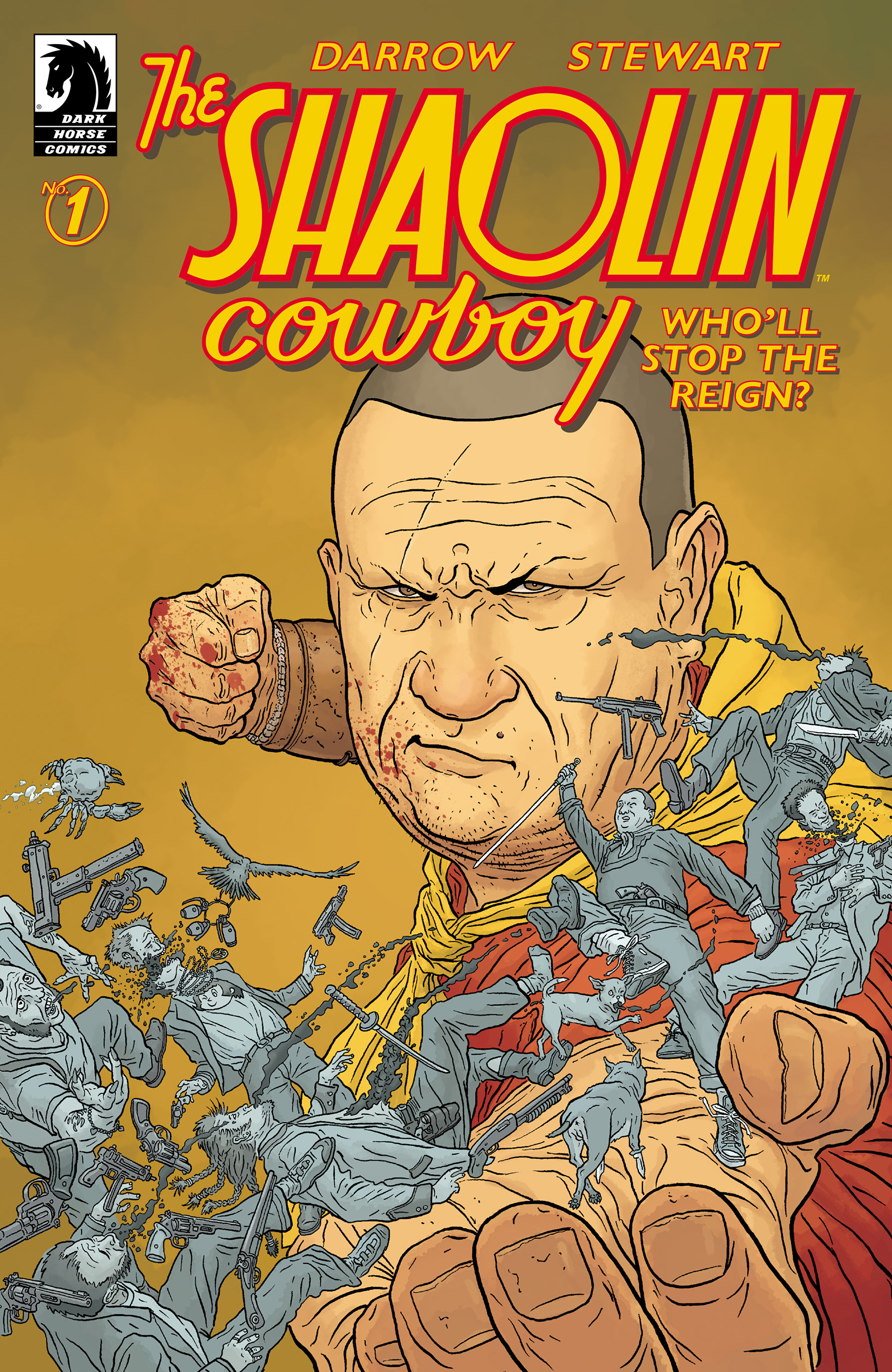 The Shaolin Cowboy: Wholl Stop the Reign? 1 Page 1