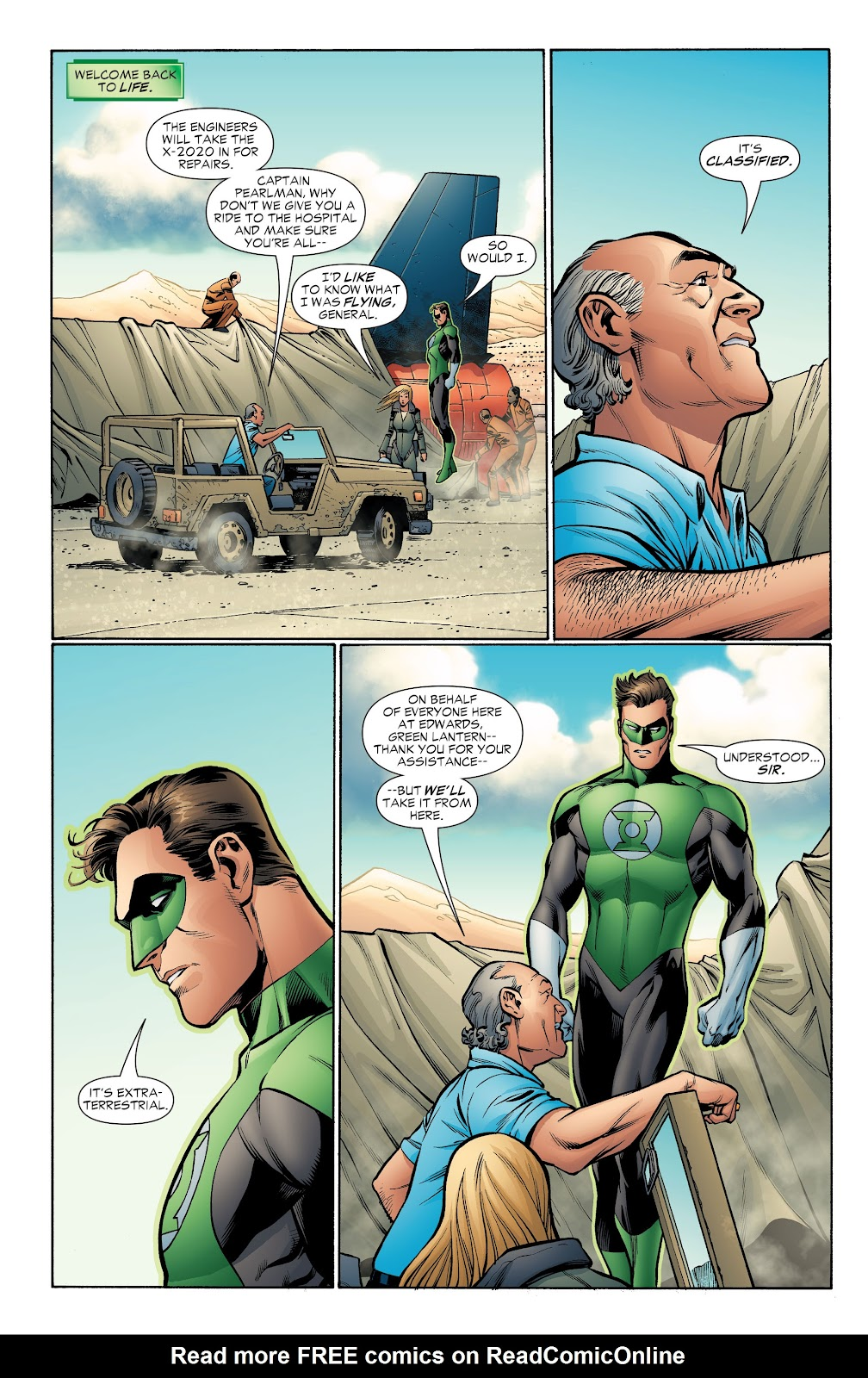 Read online Green Lantern by Geoff Johns comic -  Issue # TPB 1 (Part 4) - 29