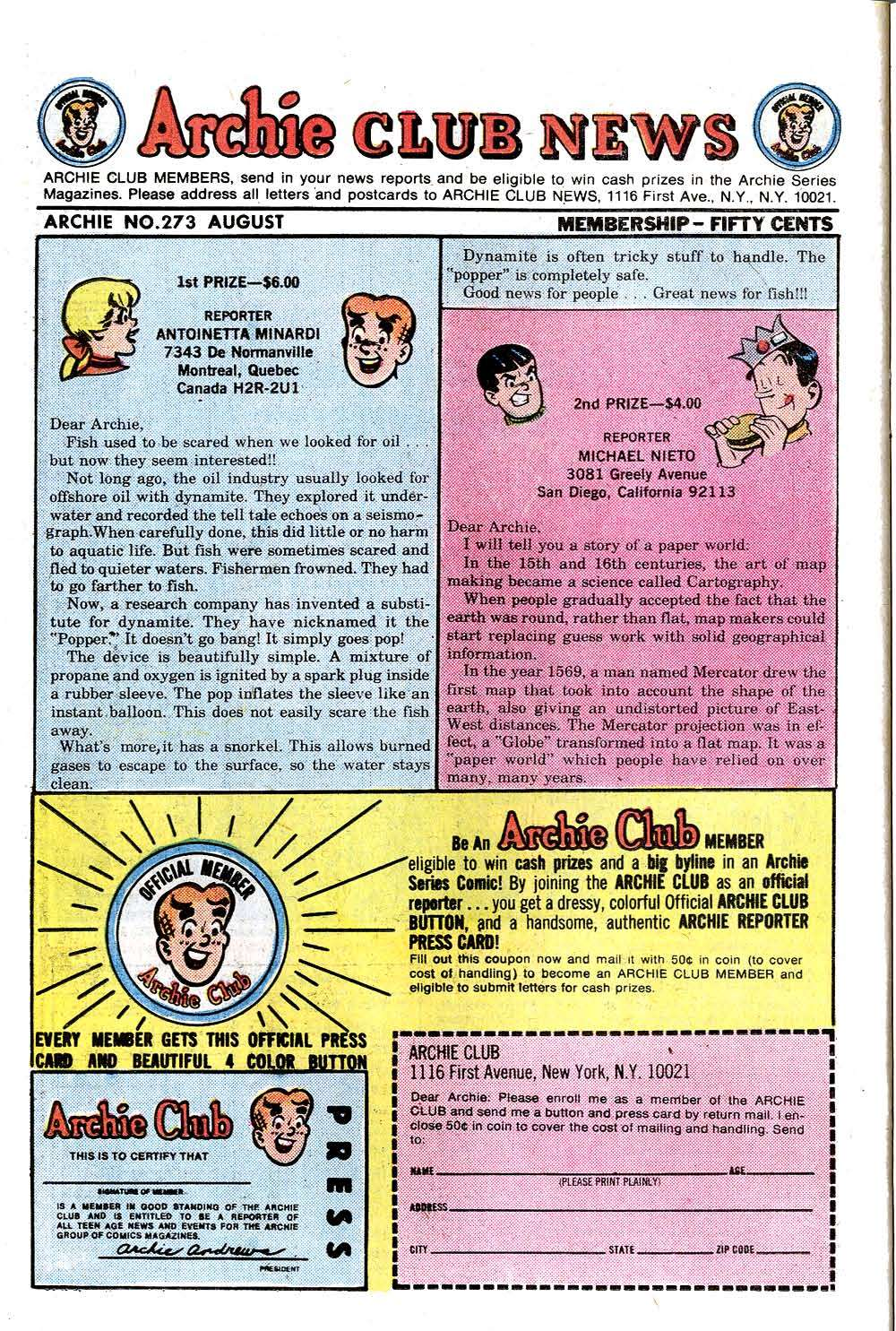 Read online Archie (1960) comic -  Issue #273 - 26