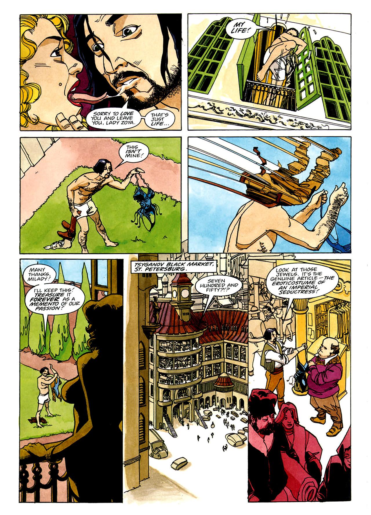 Read online Nikolai Dante comic -  Issue # TPB 1 - 9