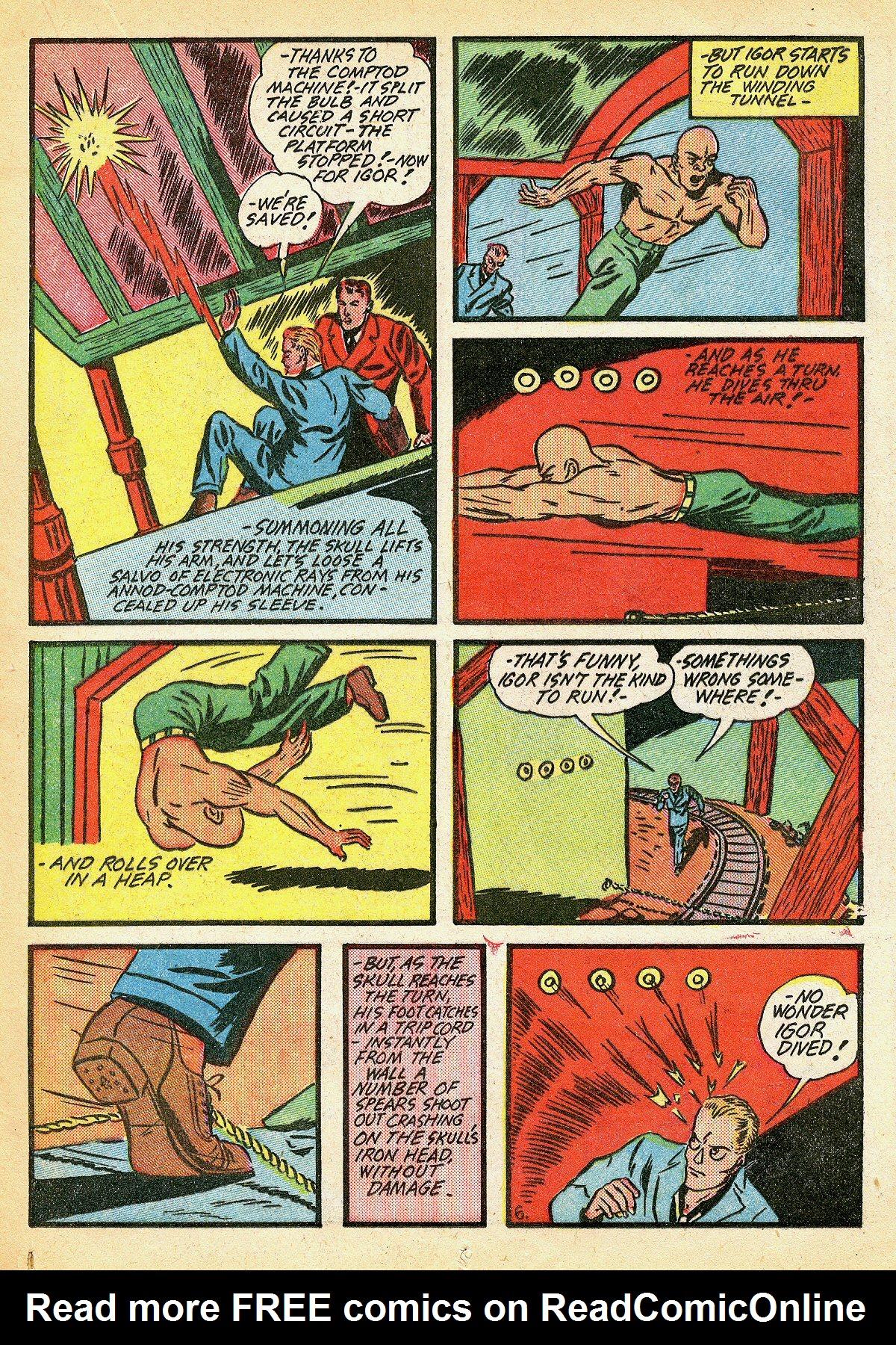 Read online Amazing Man Comics comic -  Issue #10 - 32