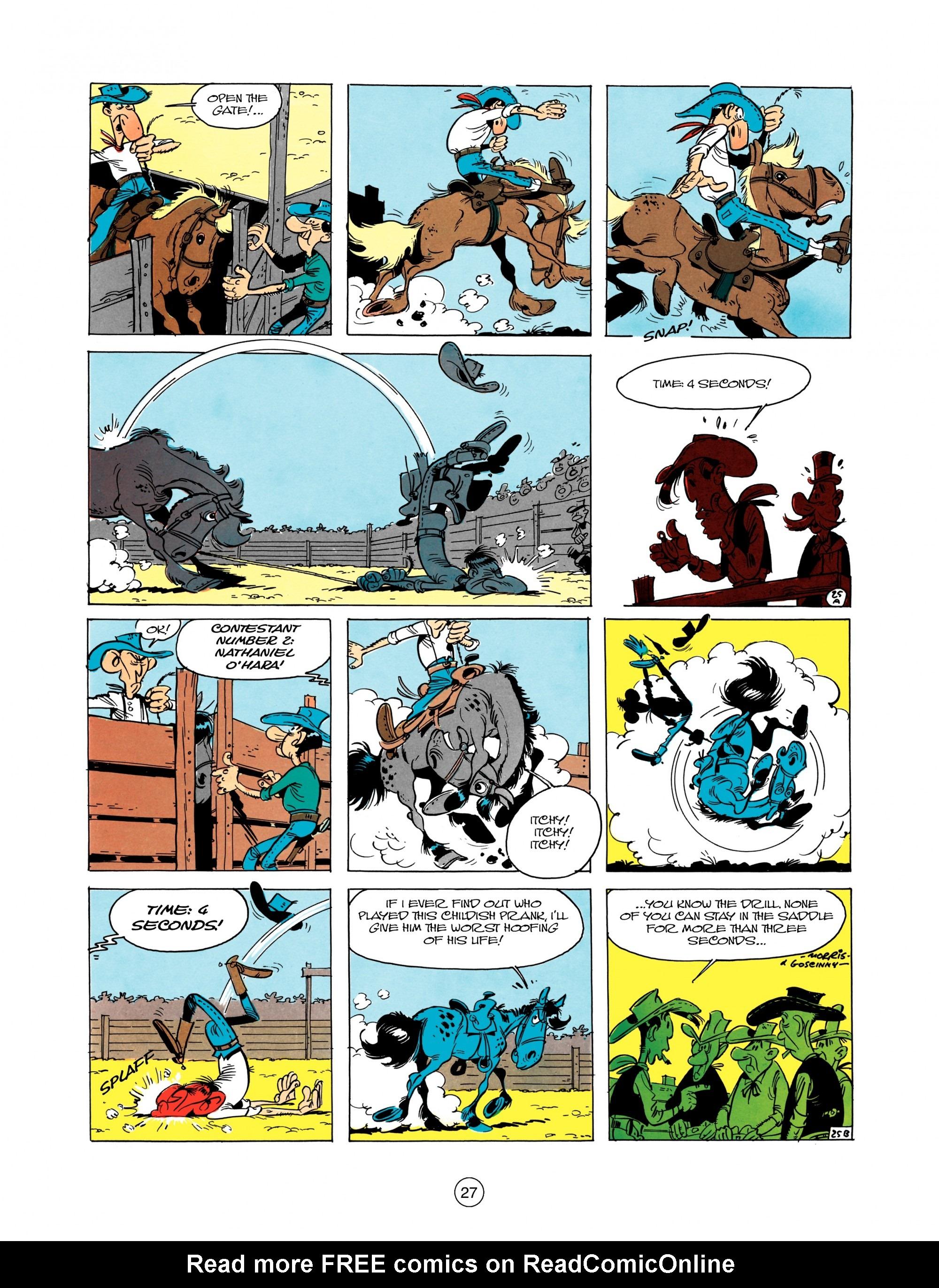 Read online A Lucky Luke Adventure comic -  Issue #12 - 27
