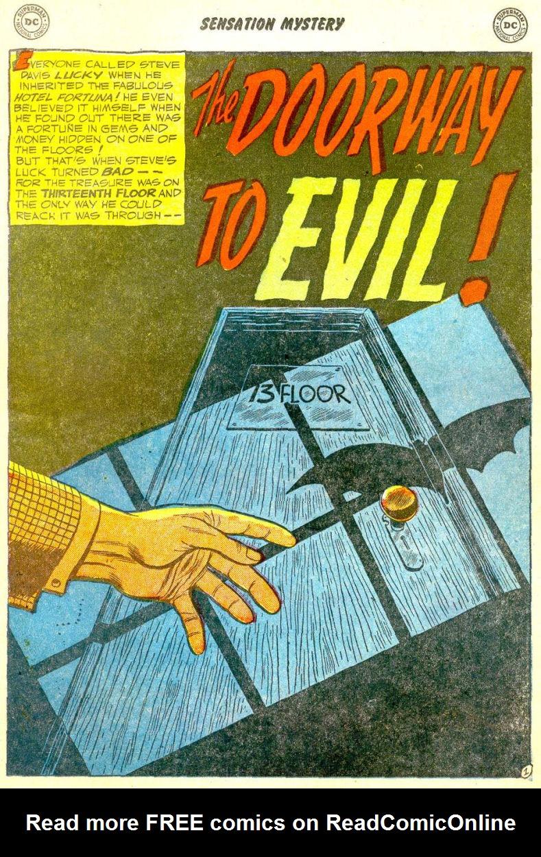 Read online Sensation (Mystery) Comics comic -  Issue #111 - 15