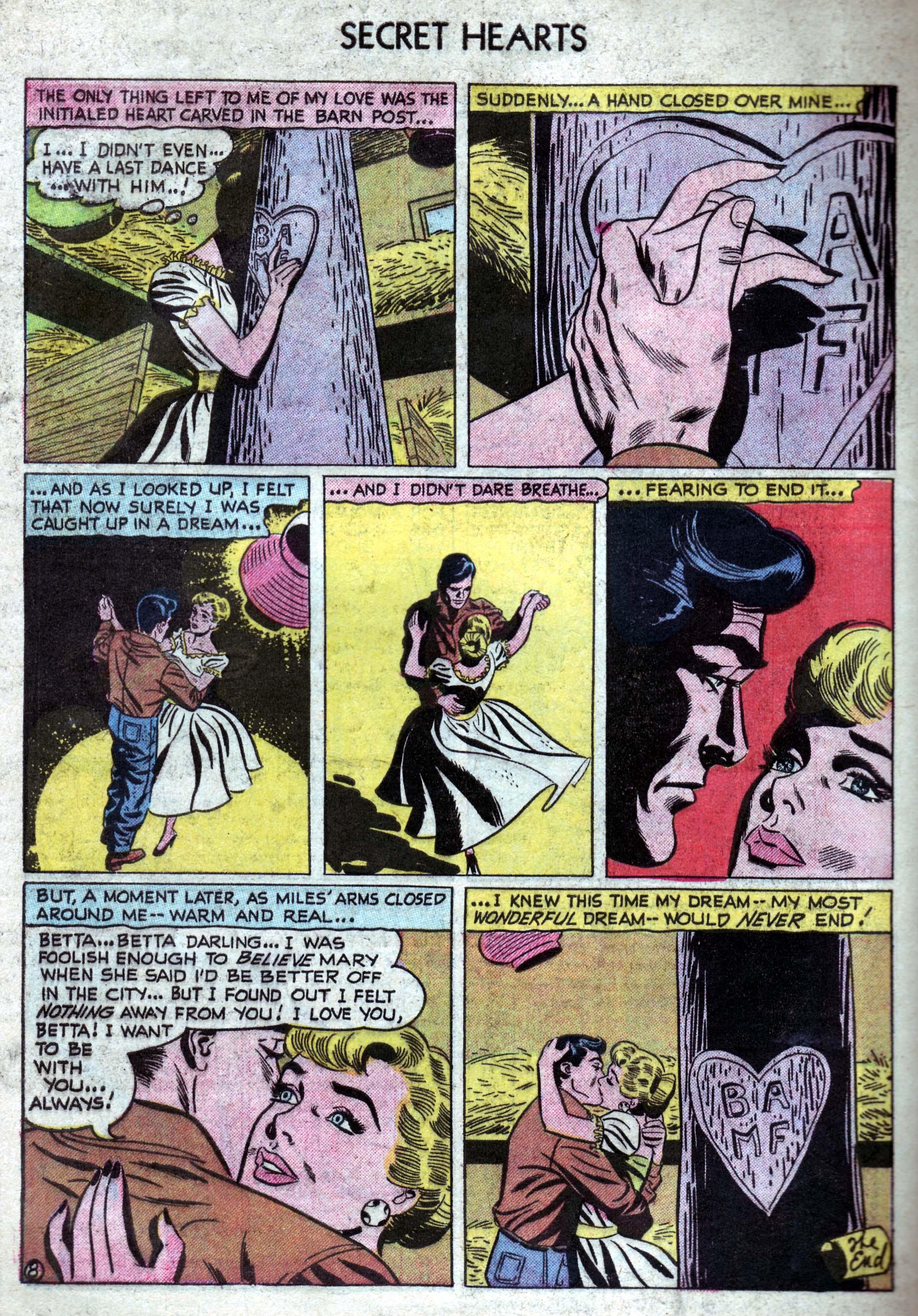 Read online Secret Hearts comic -  Issue #33 - 34