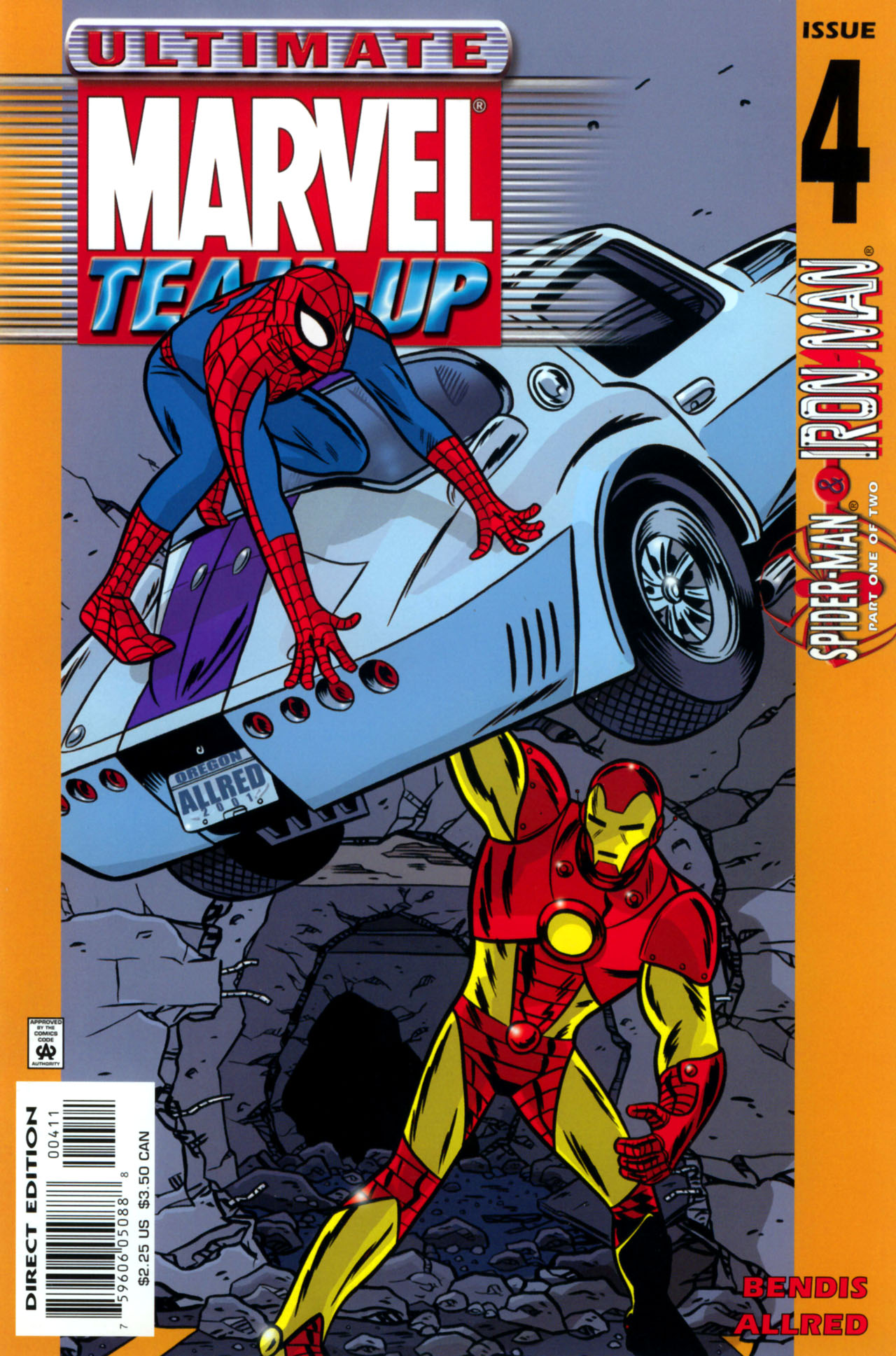 Read online Ultimate Marvel Team-Up comic -  Issue #4 - 1