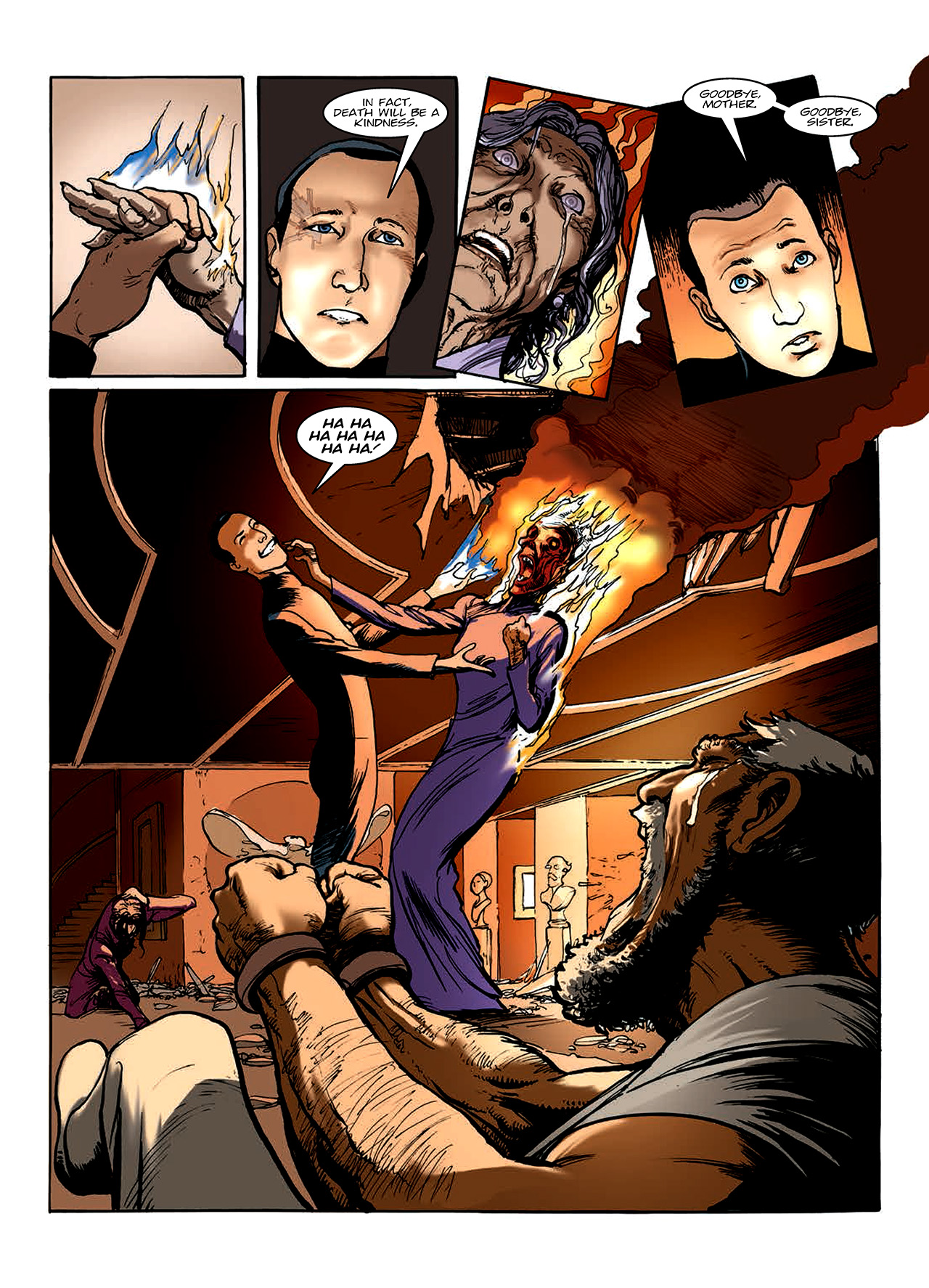 Read online Nikolai Dante comic -  Issue # TPB 10 - 108