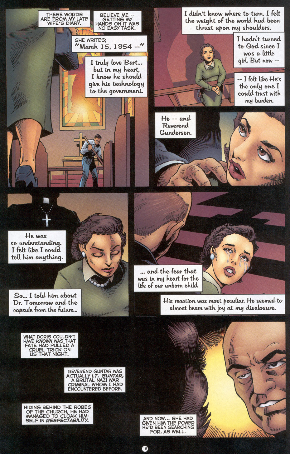 Read online Doctor Tomorrow comic -  Issue #4 - 13