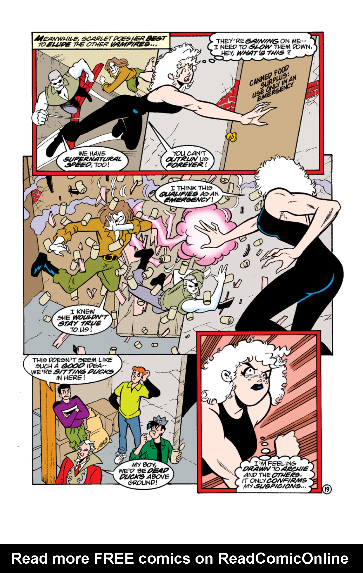 Read online Archie's Weird Mysteries comic -  Issue #12 - 21