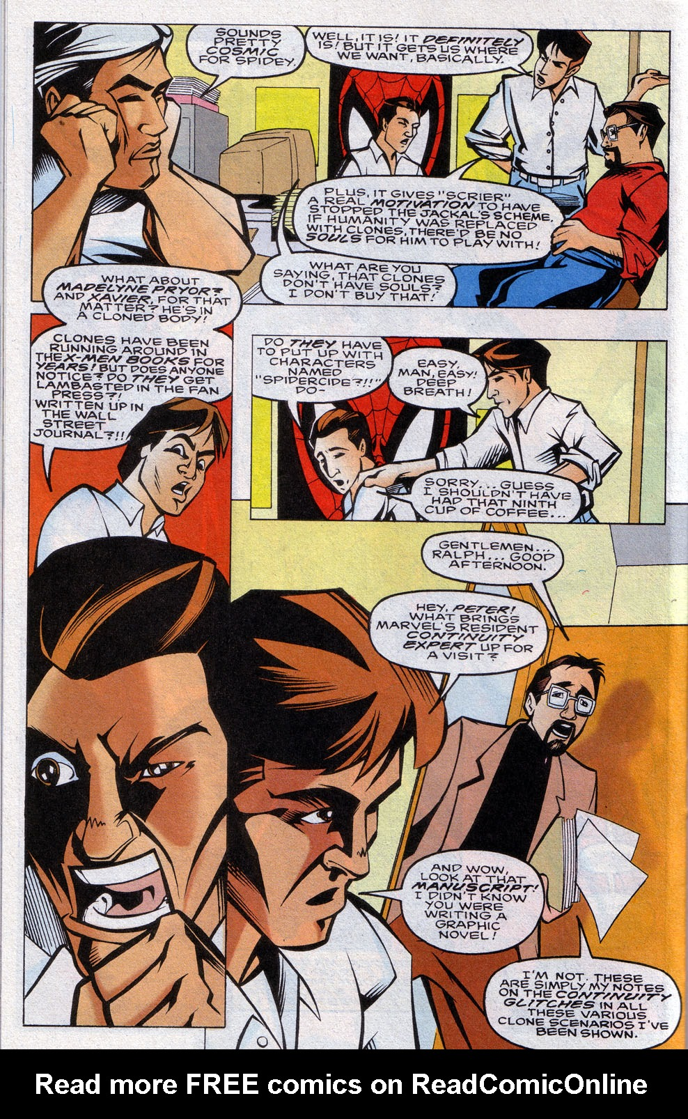 Read online 101 Ways to End the Clone Saga comic -  Issue #101 Ways to End the Clone Saga Full - 24