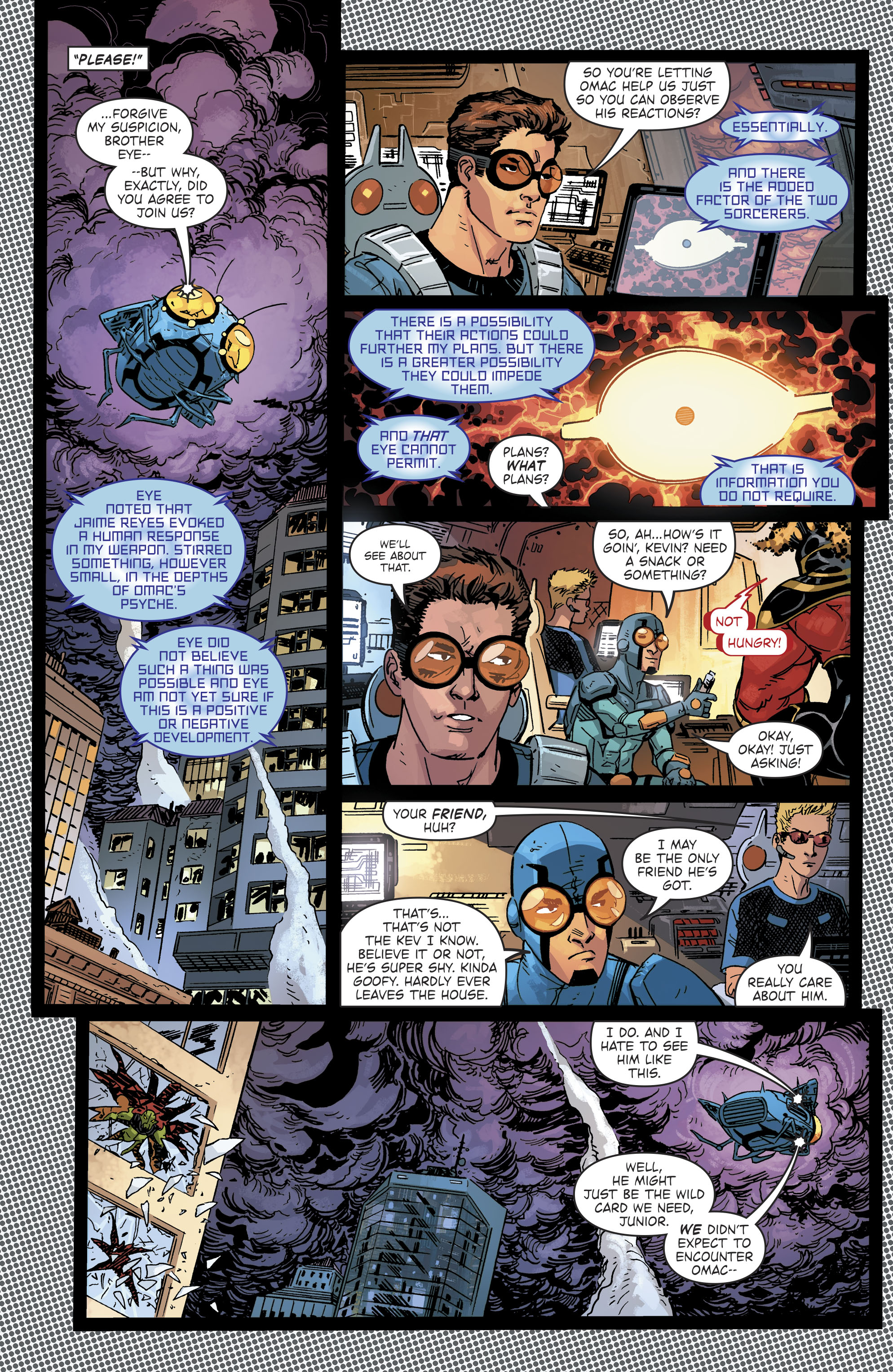 Read online Blue Beetle (2016) comic -  Issue #9 - 13