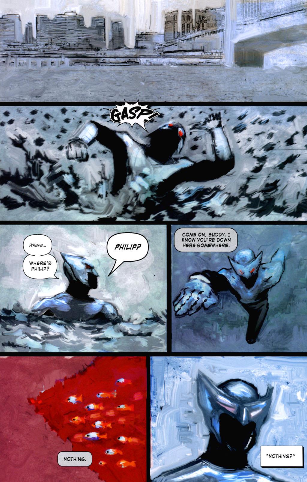 Read online ShadowHawk (2005) comic -  Issue #8 - 21