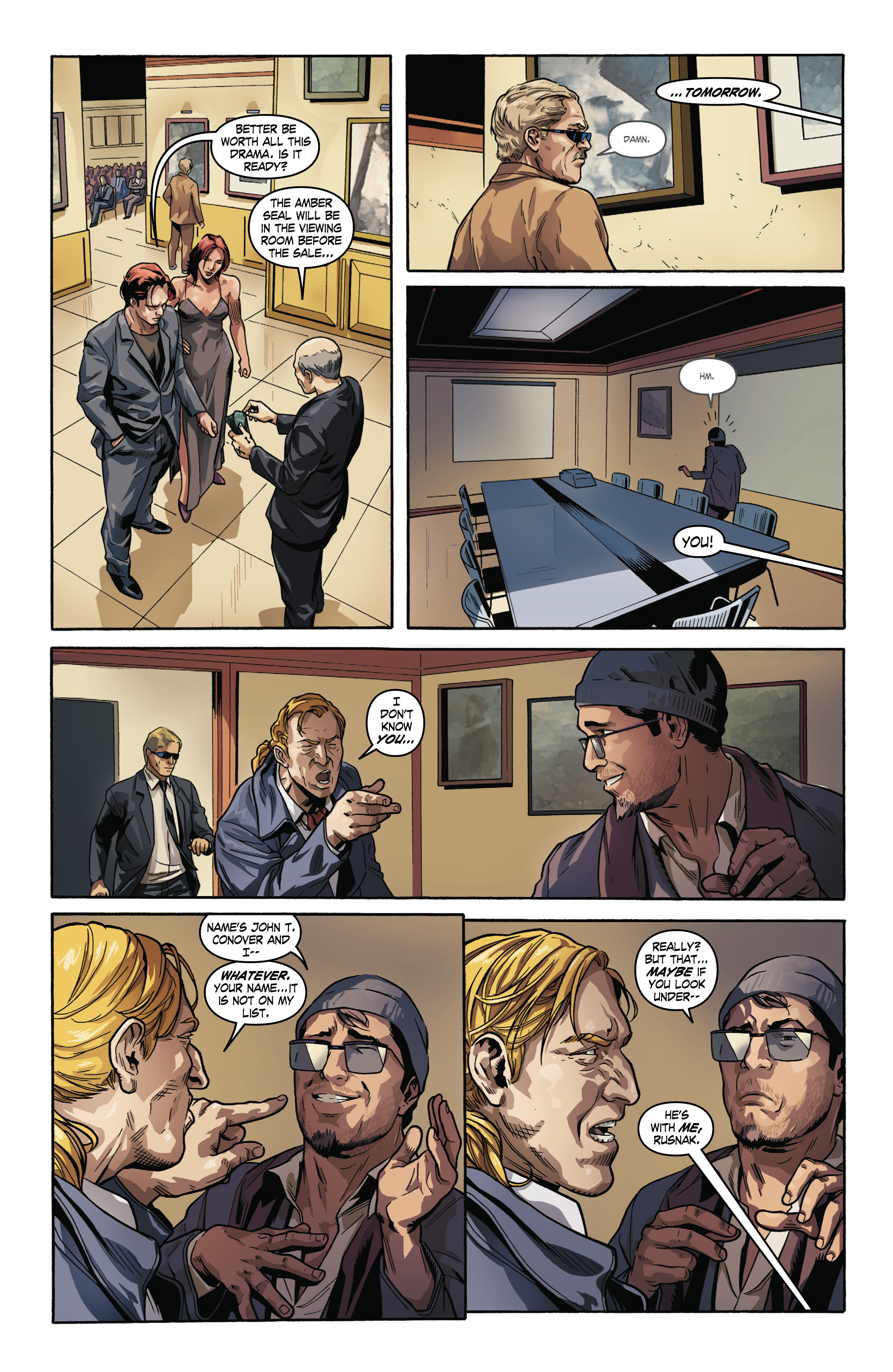 Read online Uncharted comic -  Issue #2 - 7