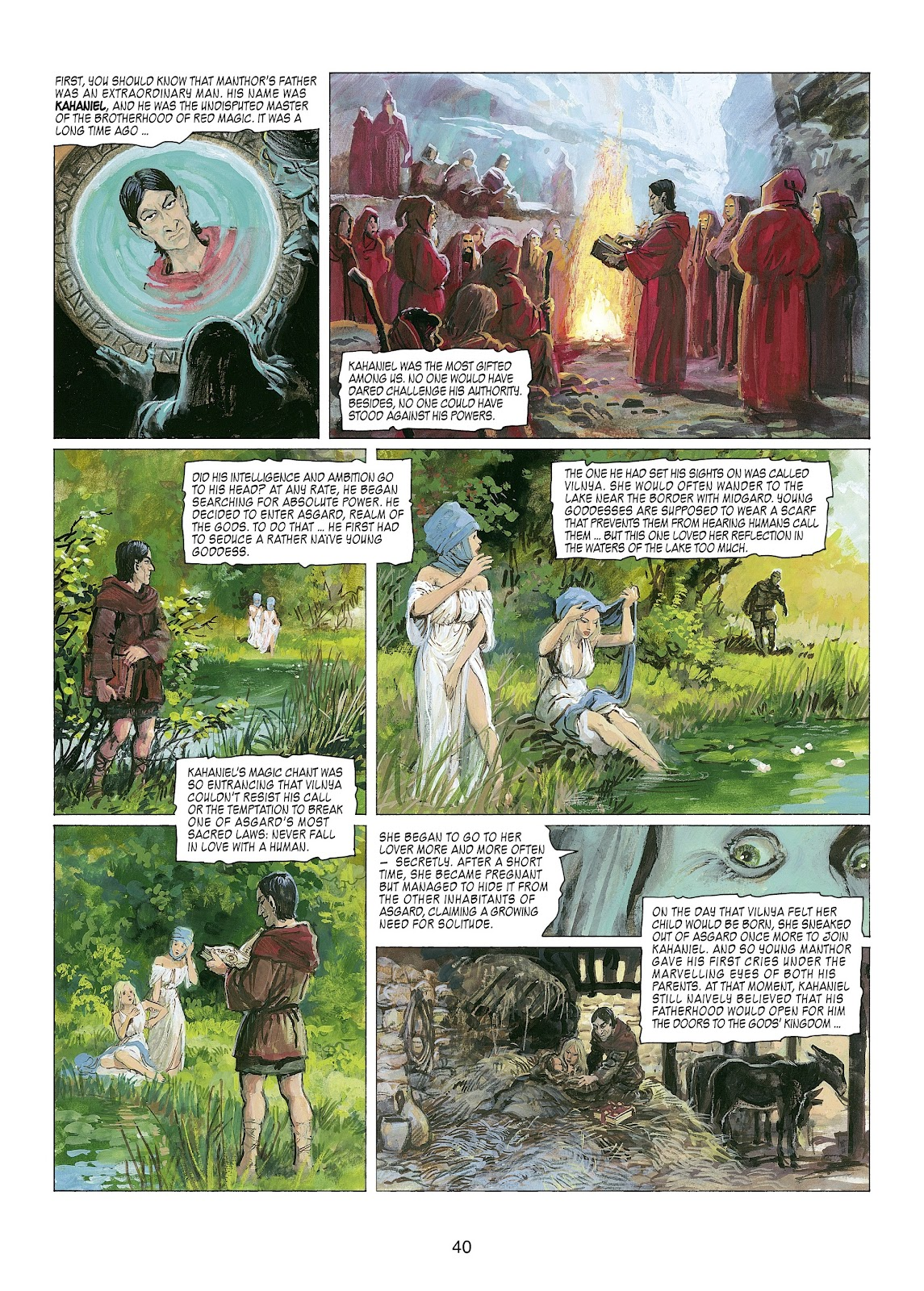 Read online Thorgal comic -  Issue #22 - 42