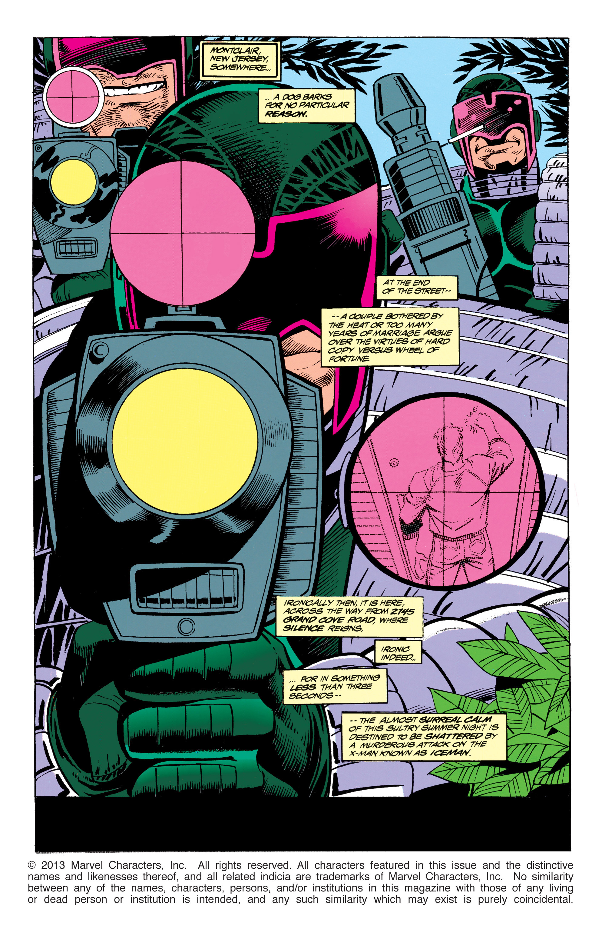 Read online Uncanny X-Men (1963) comic -  Issue #305 - 2