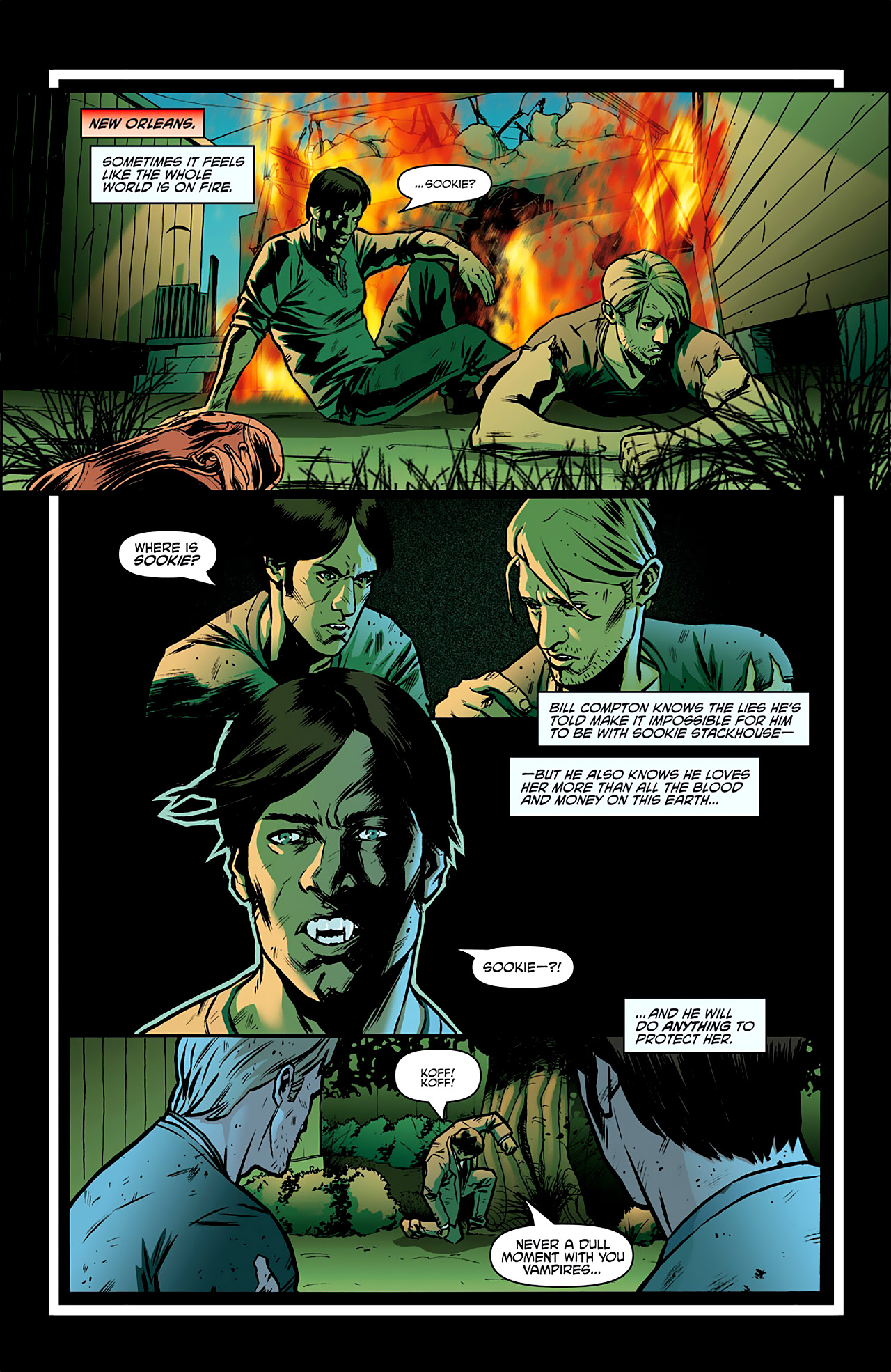 Read online True Blood: French Quarter comic -  Issue #2 - 3