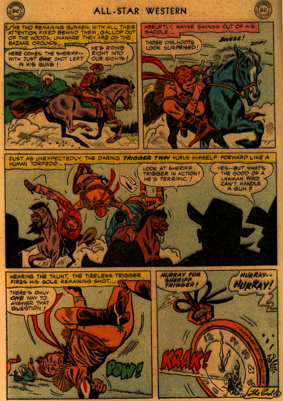 Read online All-Star Western (1951) comic -  Issue #89 - 9