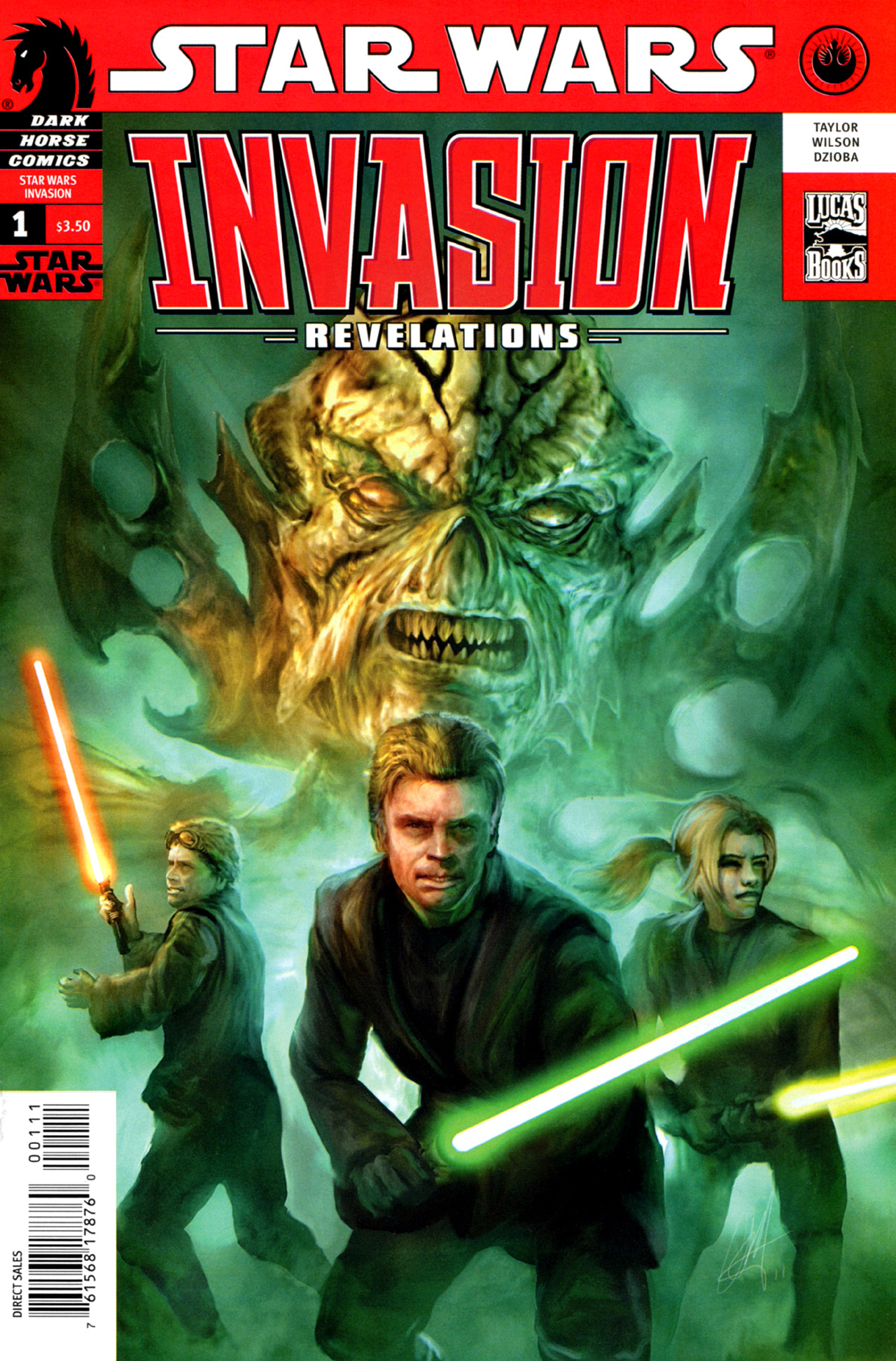 Star Wars: Invasion - Revelations 1 Page 1