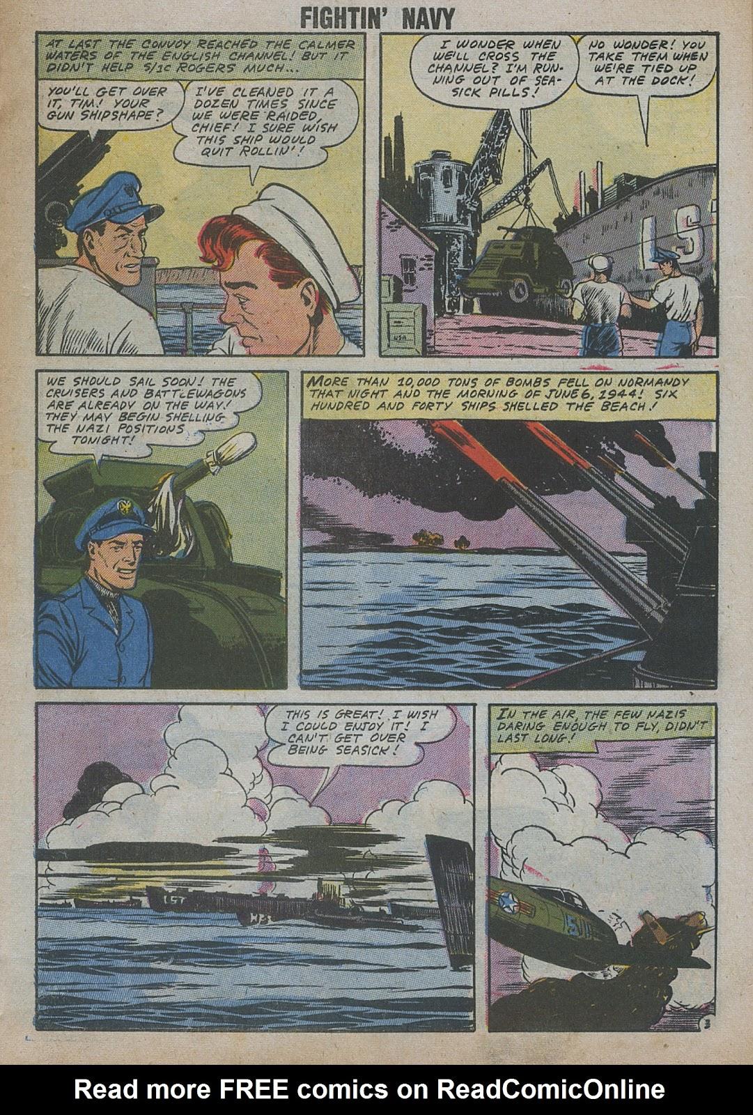 Read online Fightin' Navy comic -  Issue #82 - 13