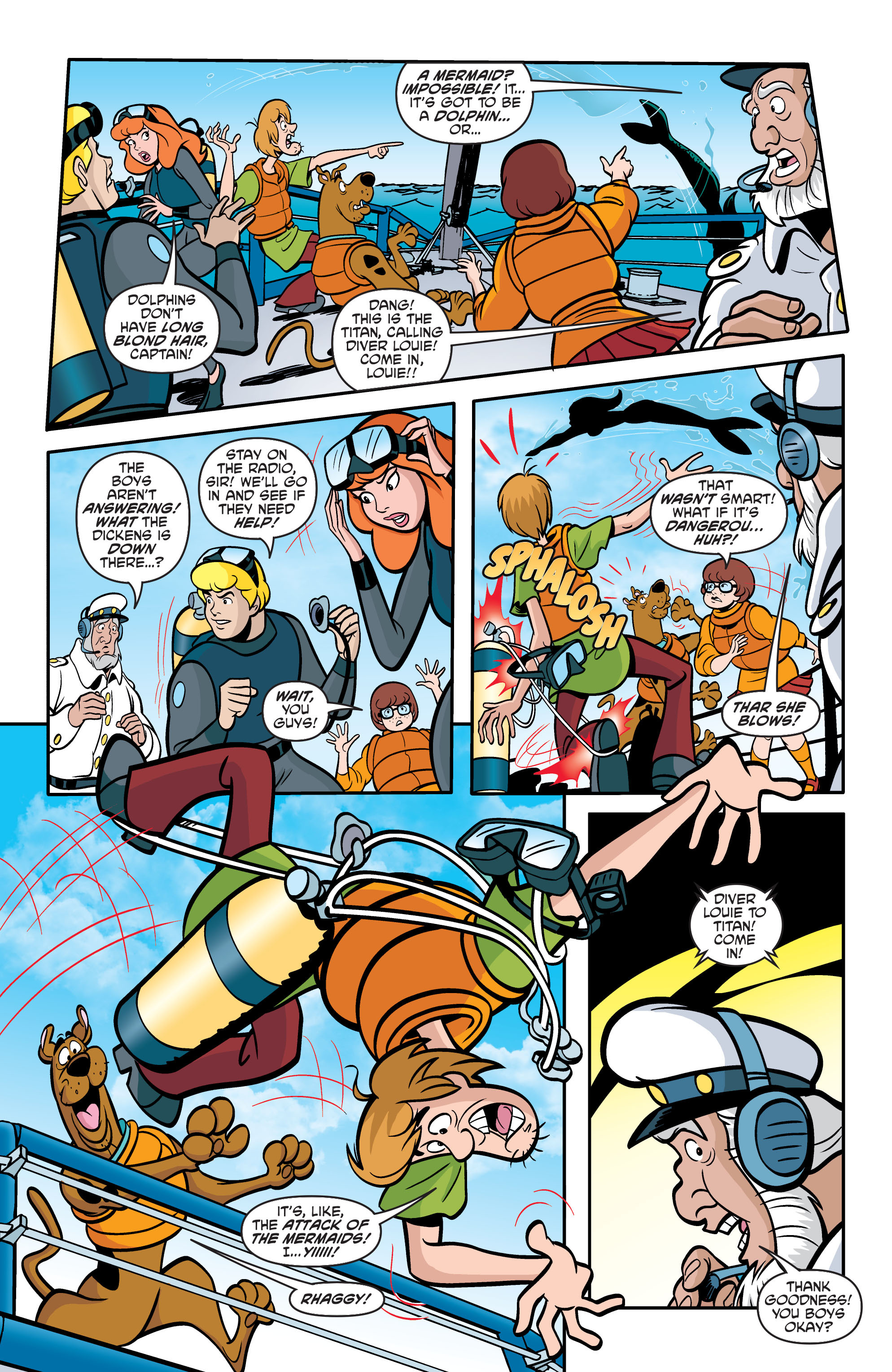 Read online Scooby-Doo: Where Are You? comic -  Issue #60 - 19
