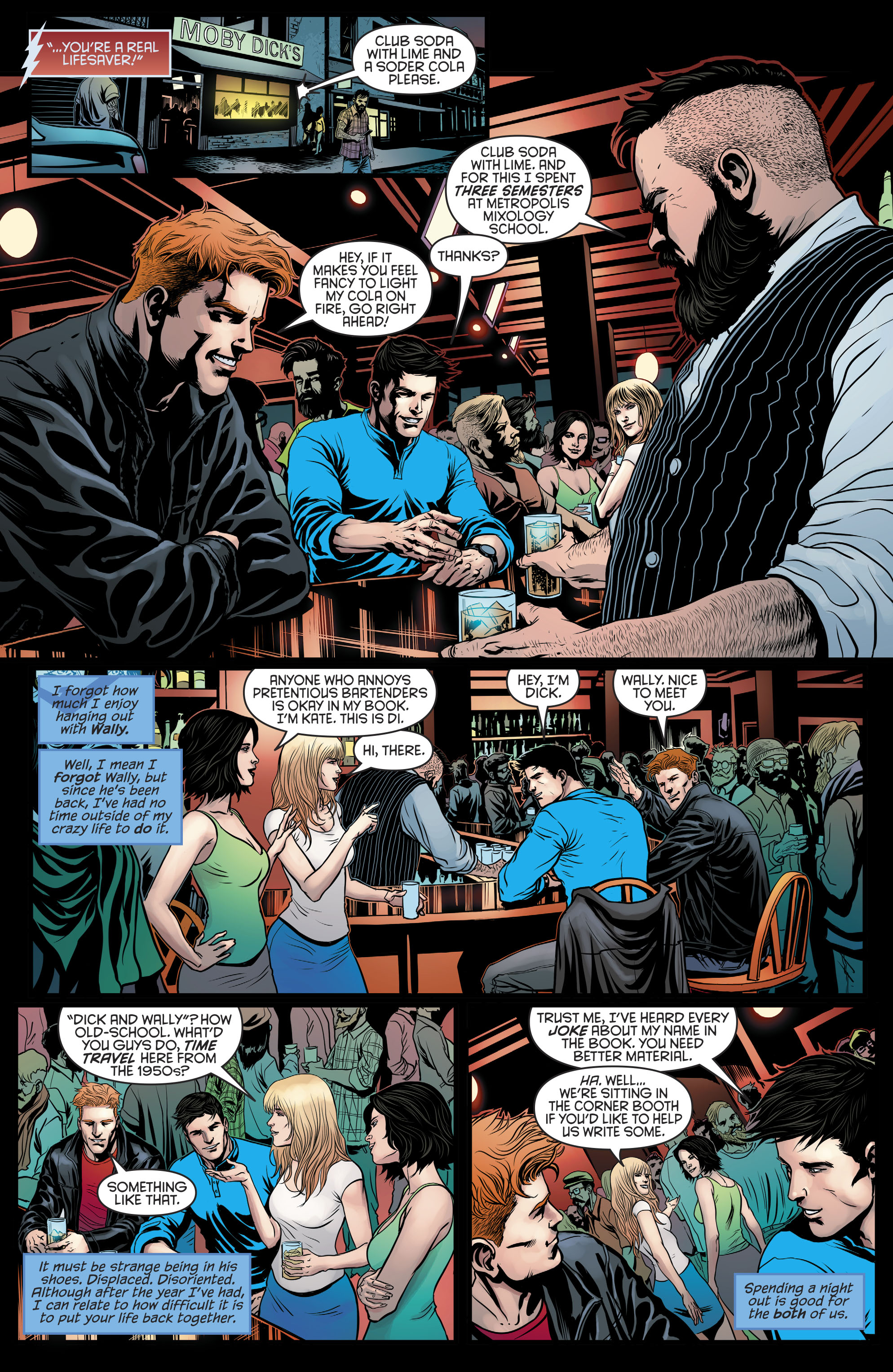 Read online Nightwing (2016) comic -  Issue #21 - 9
