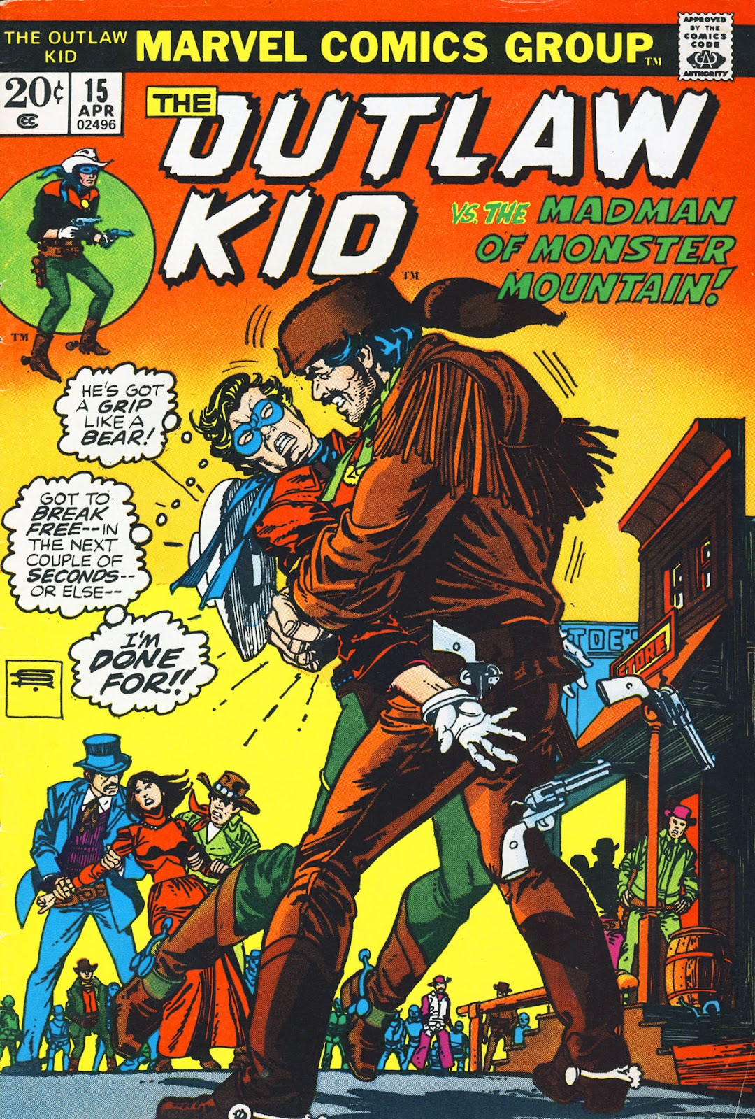 The Outlaw Kid (1970) issue 15 - Page 1