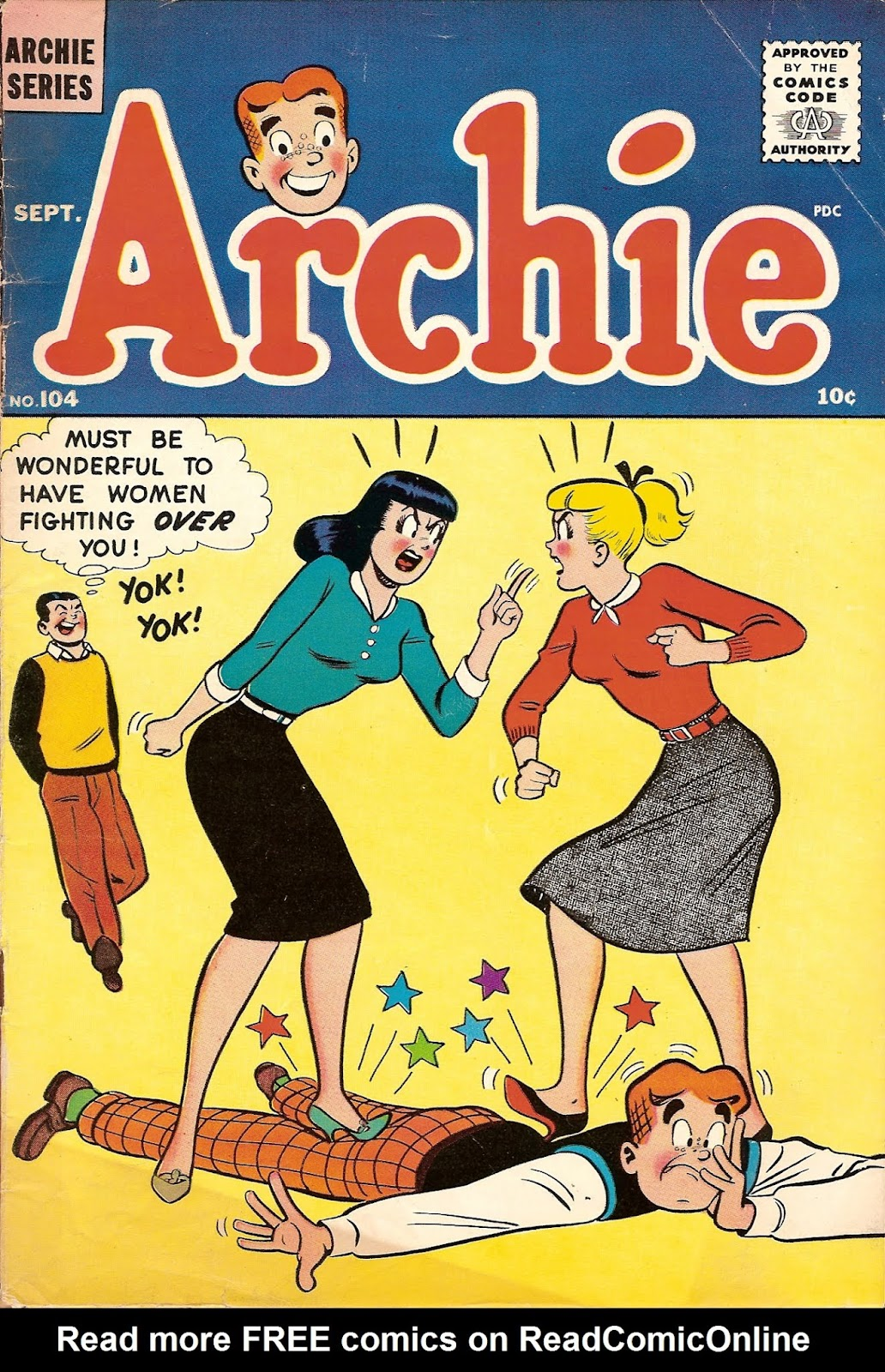 Archie Comics issue 104 - Page 1