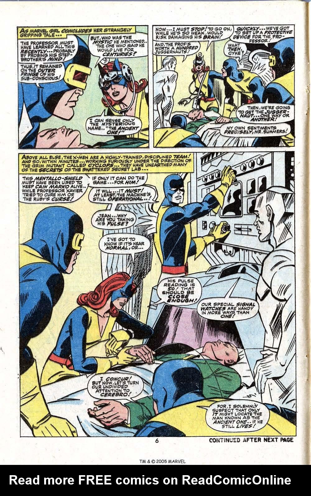 Read online Uncanny X-Men (1963) comic -  Issue #81 - 8