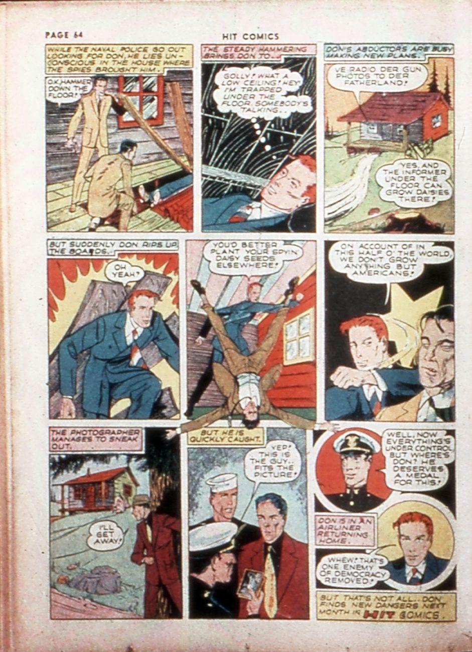 Read online Hit Comics comic -  Issue #14 - 66