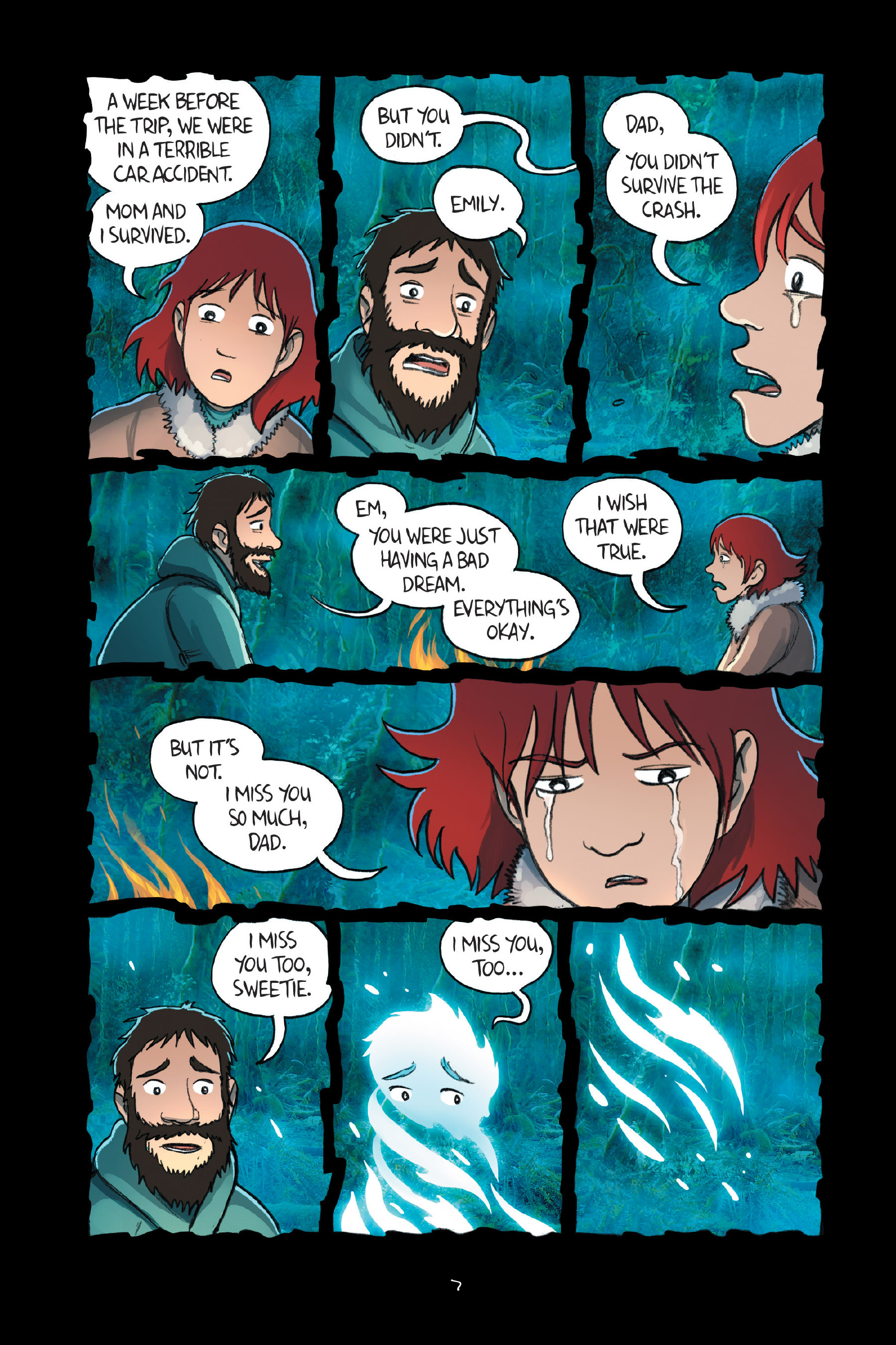 Read online Amulet comic -  Issue #7 - 11