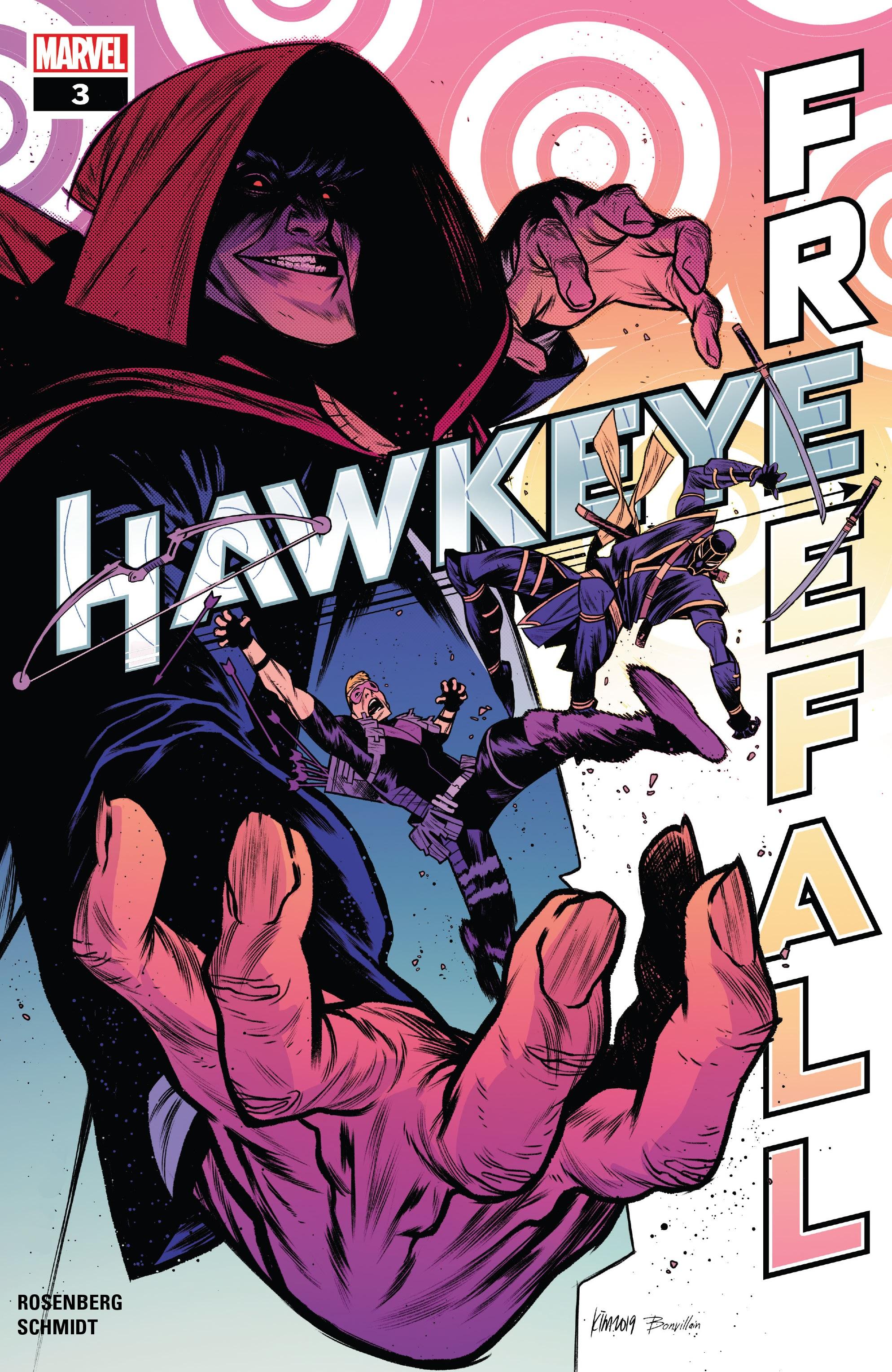 Hawkeye: Freefall 3 Page 1