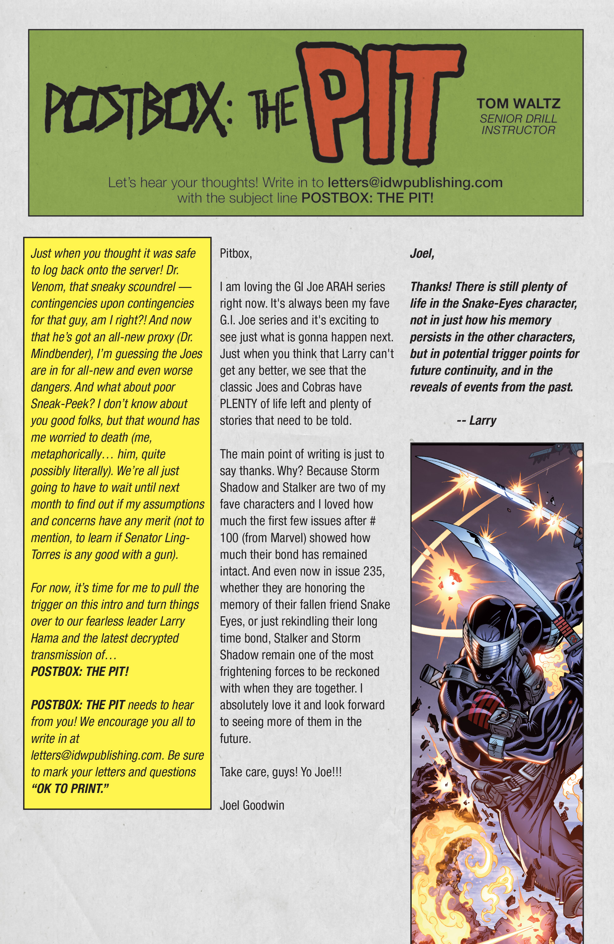 Read online G.I. Joe: A Real American Hero comic -  Issue #240 - 23