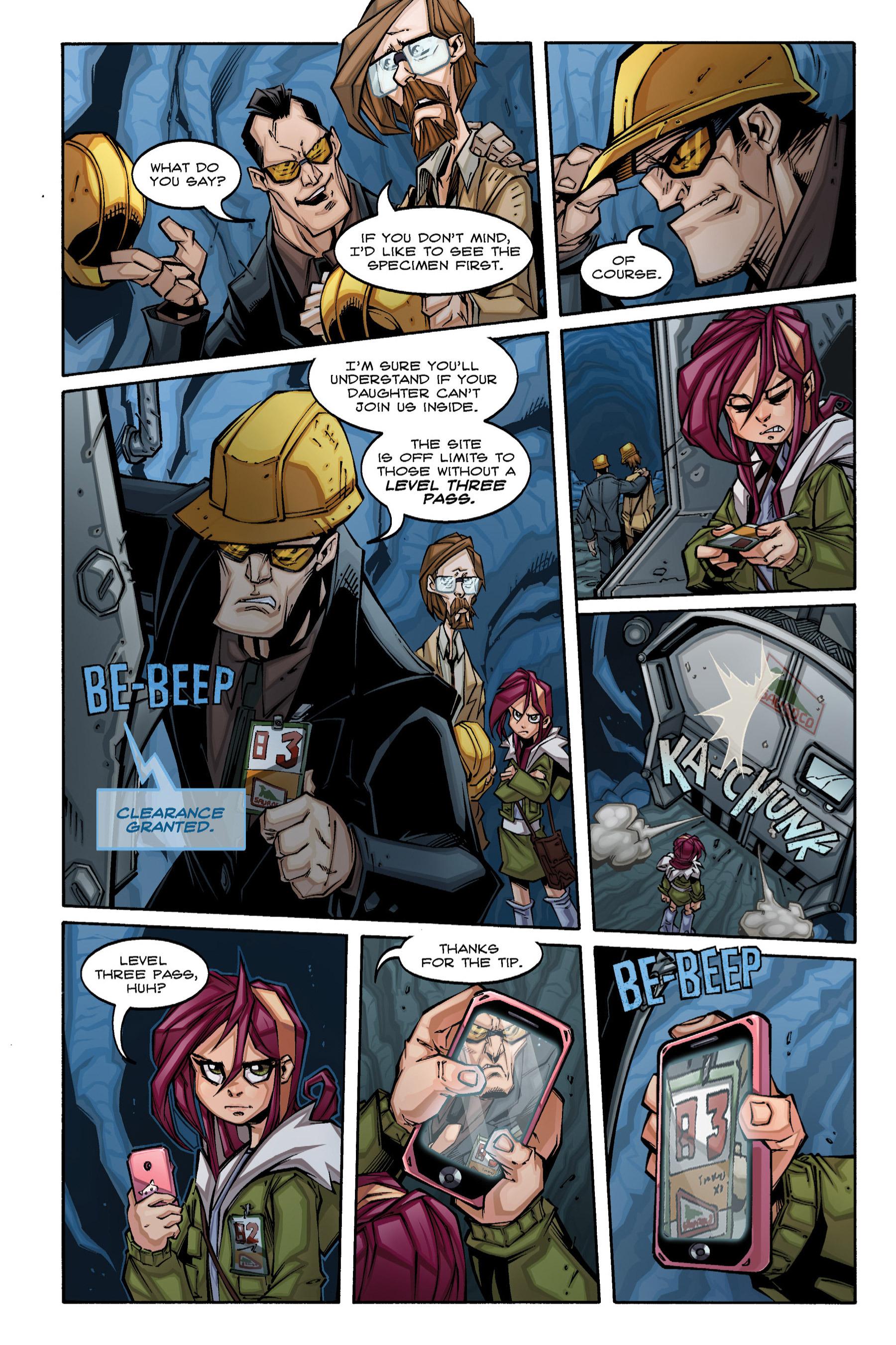 Read online Rexodus comic -  Issue # Full - 19