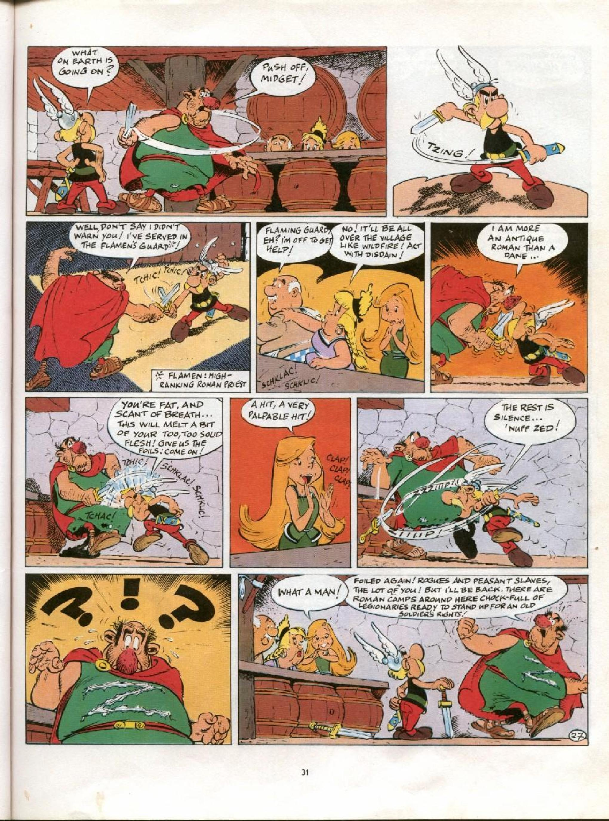 Read online Asterix comic -  Issue #21 - 28
