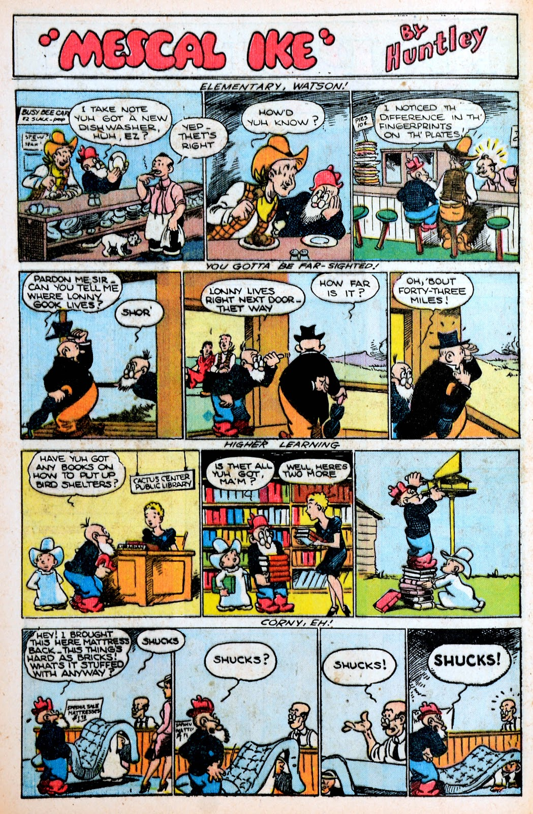 Read online Famous Funnies comic -  Issue #120 - 41