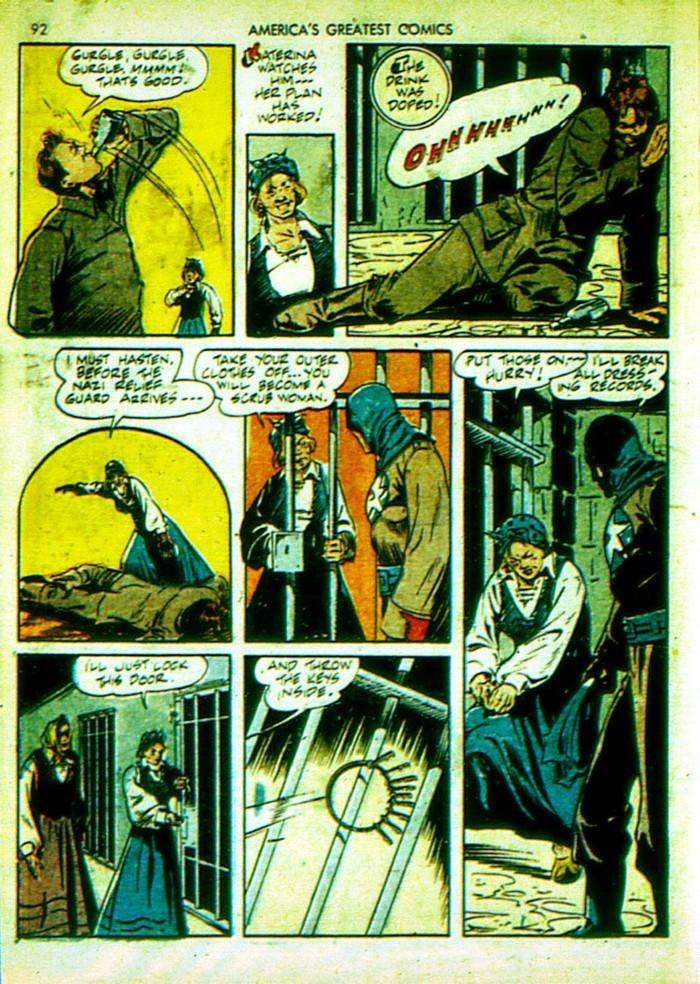 Read online America's Greatest Comics comic -  Issue #4 - 93