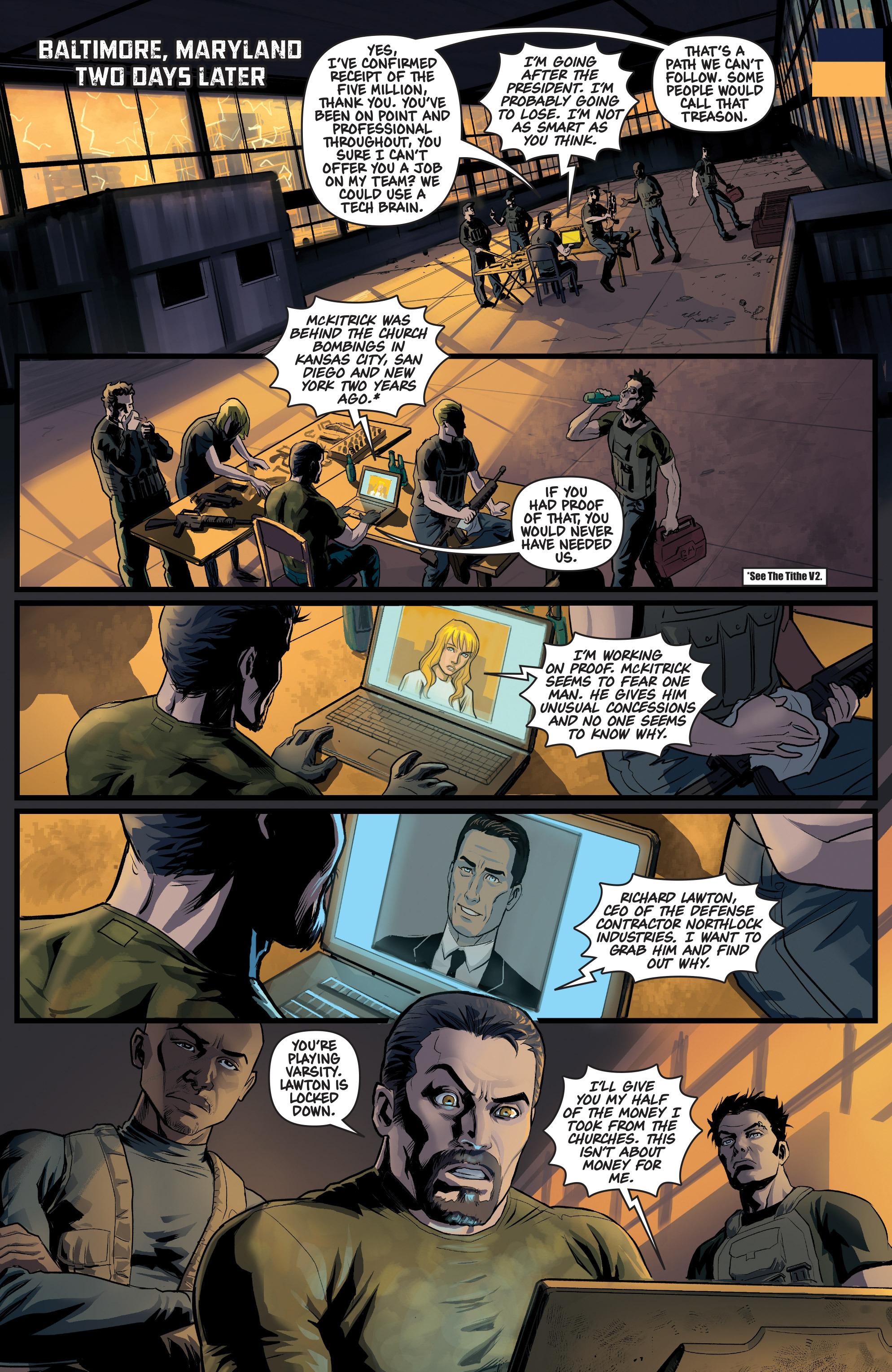 Read online Samaritan: Vertias comic -  Issue #1 - 17