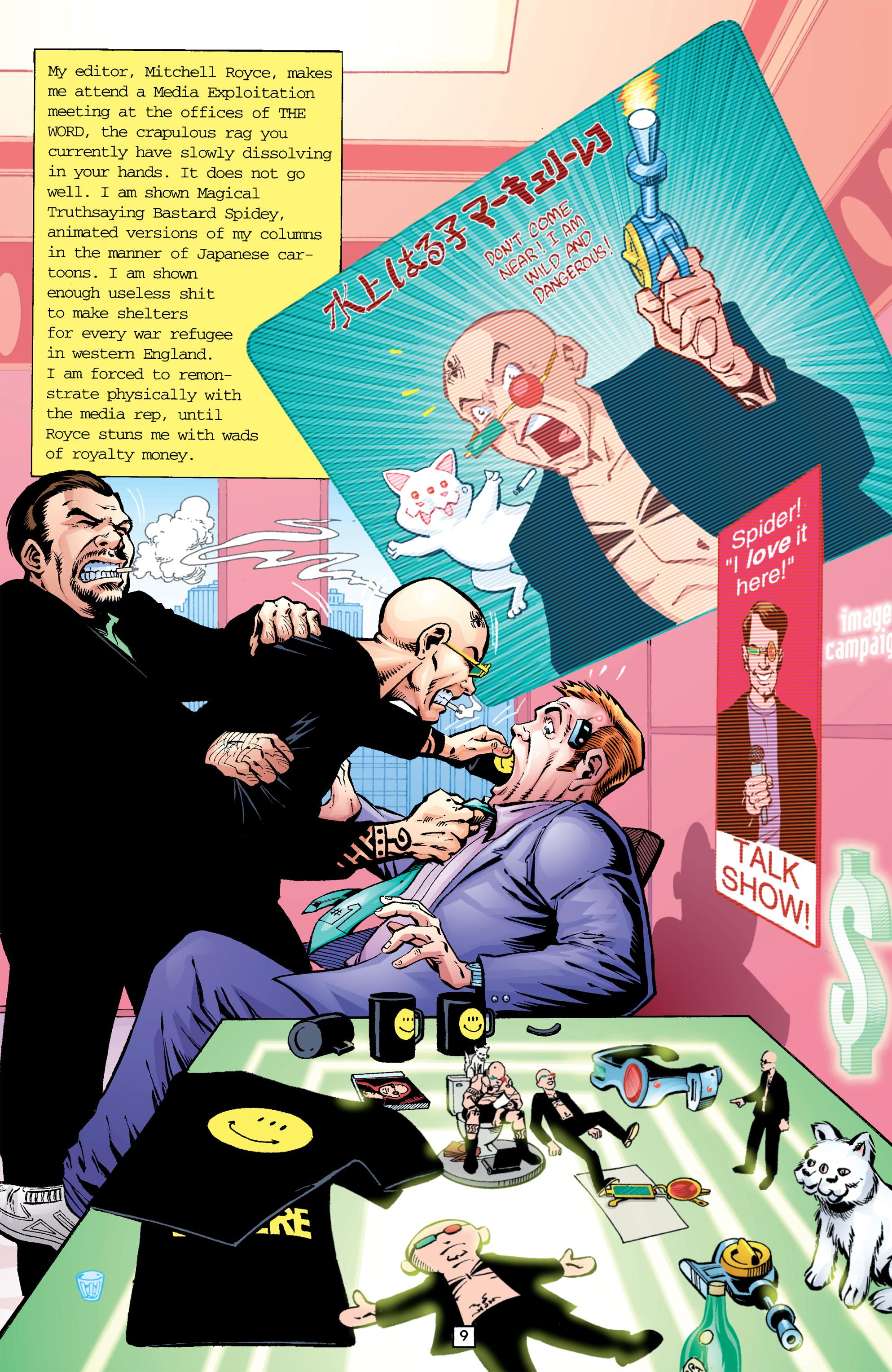 Read online Transmetropolitan comic -  Issue #26 - 10