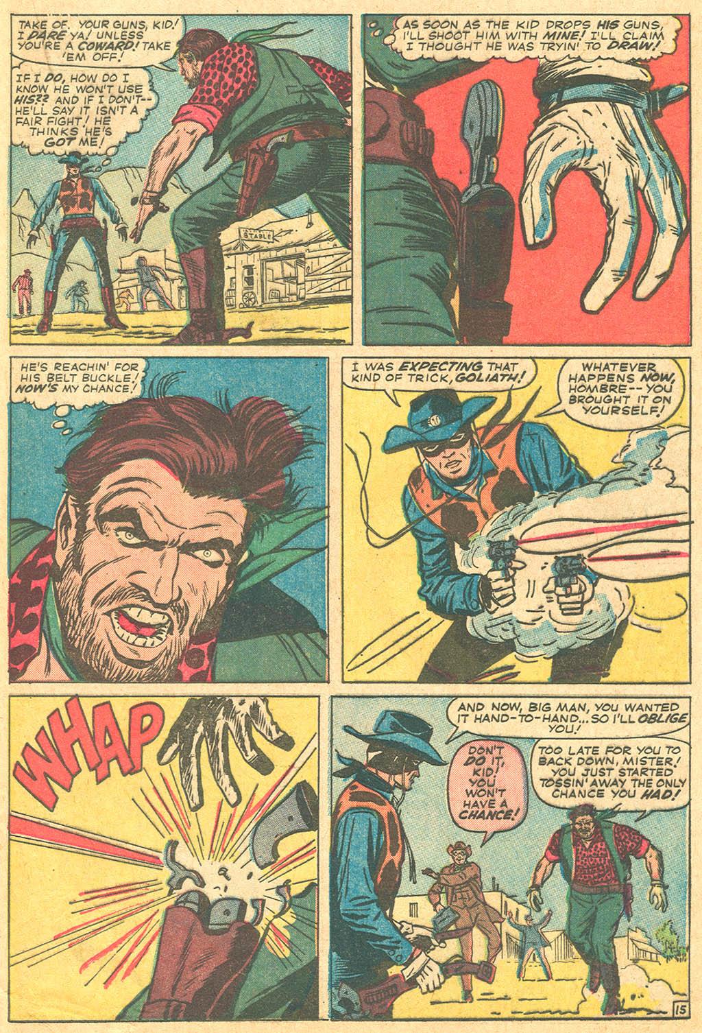 Read online Two-Gun Kid comic -  Issue #69 - 21